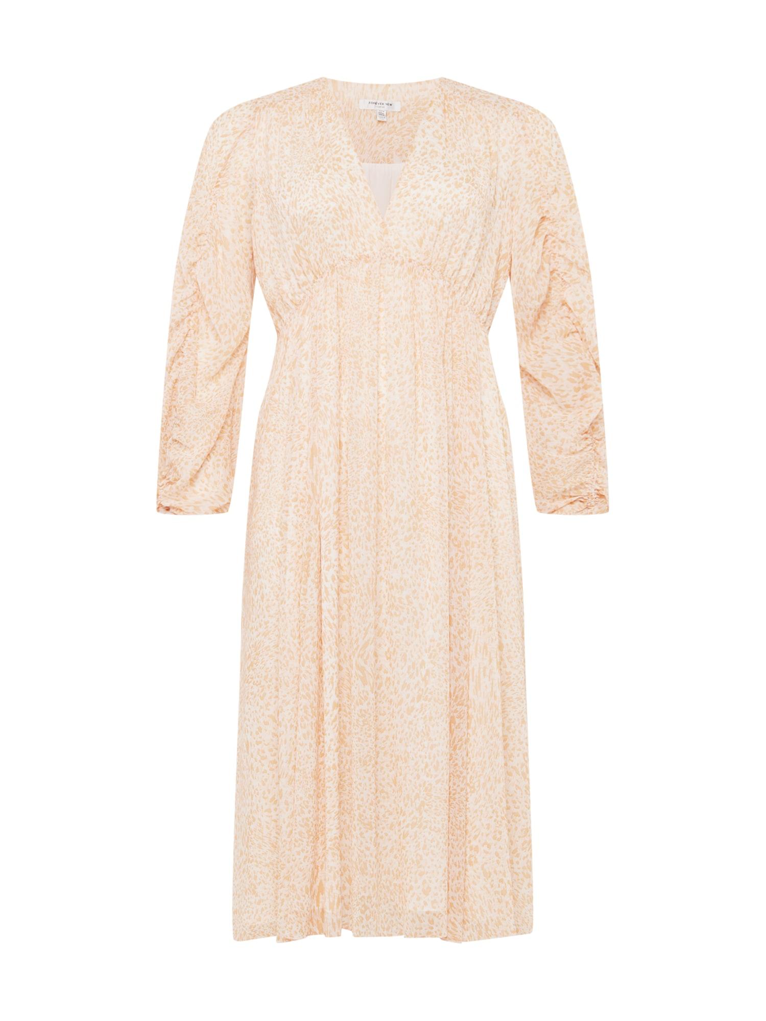 Forever New Curve Suknelė smėlio spalva / abrikosų spalva