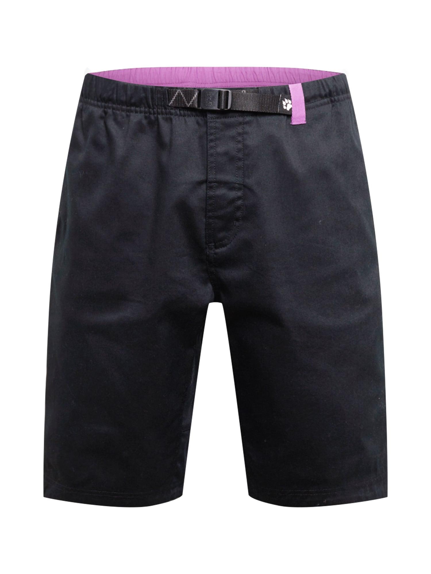 JACK WOLFSKIN Kalhoty 'STAYAWAY 1'  černá