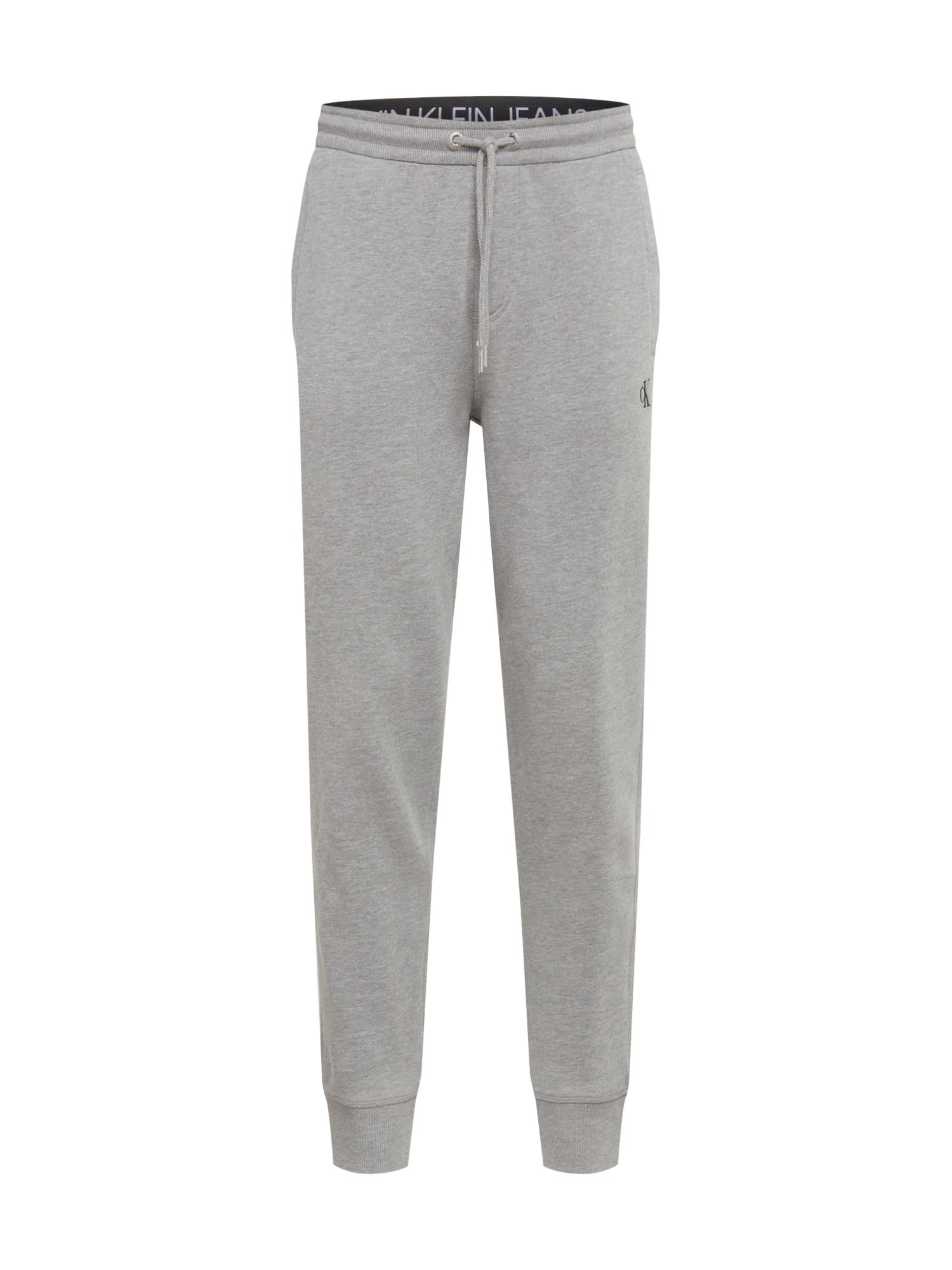 Calvin Klein Jeans Kalhoty 'ESSENTIAL'  šedá