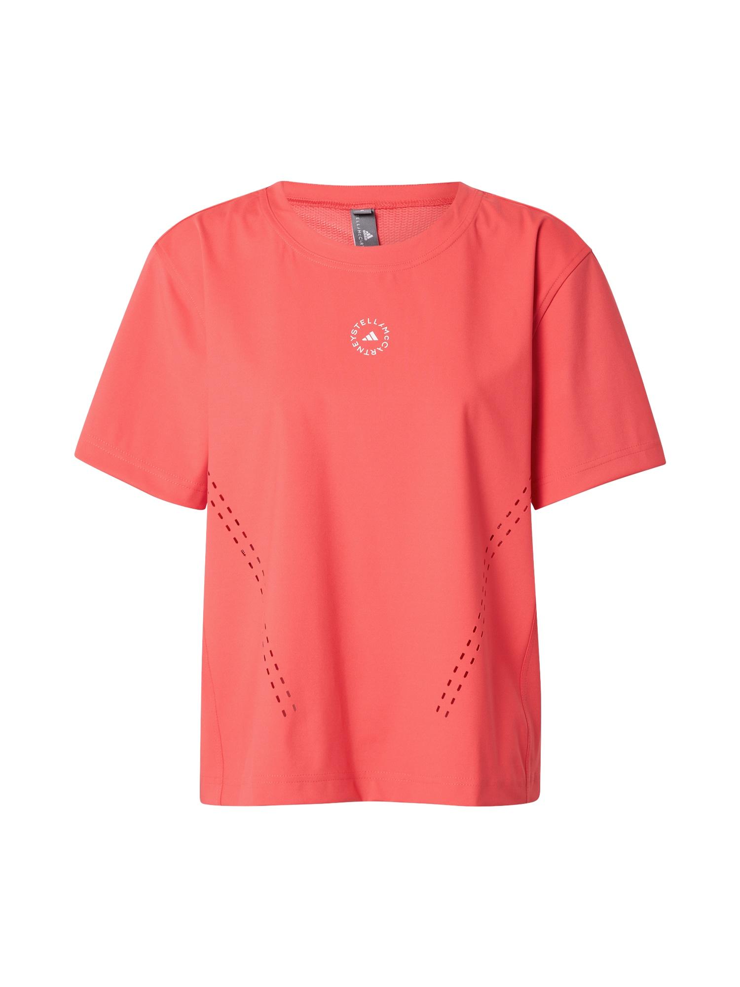 adidas by Stella McCartney Sportiniai marškinėliai raudona