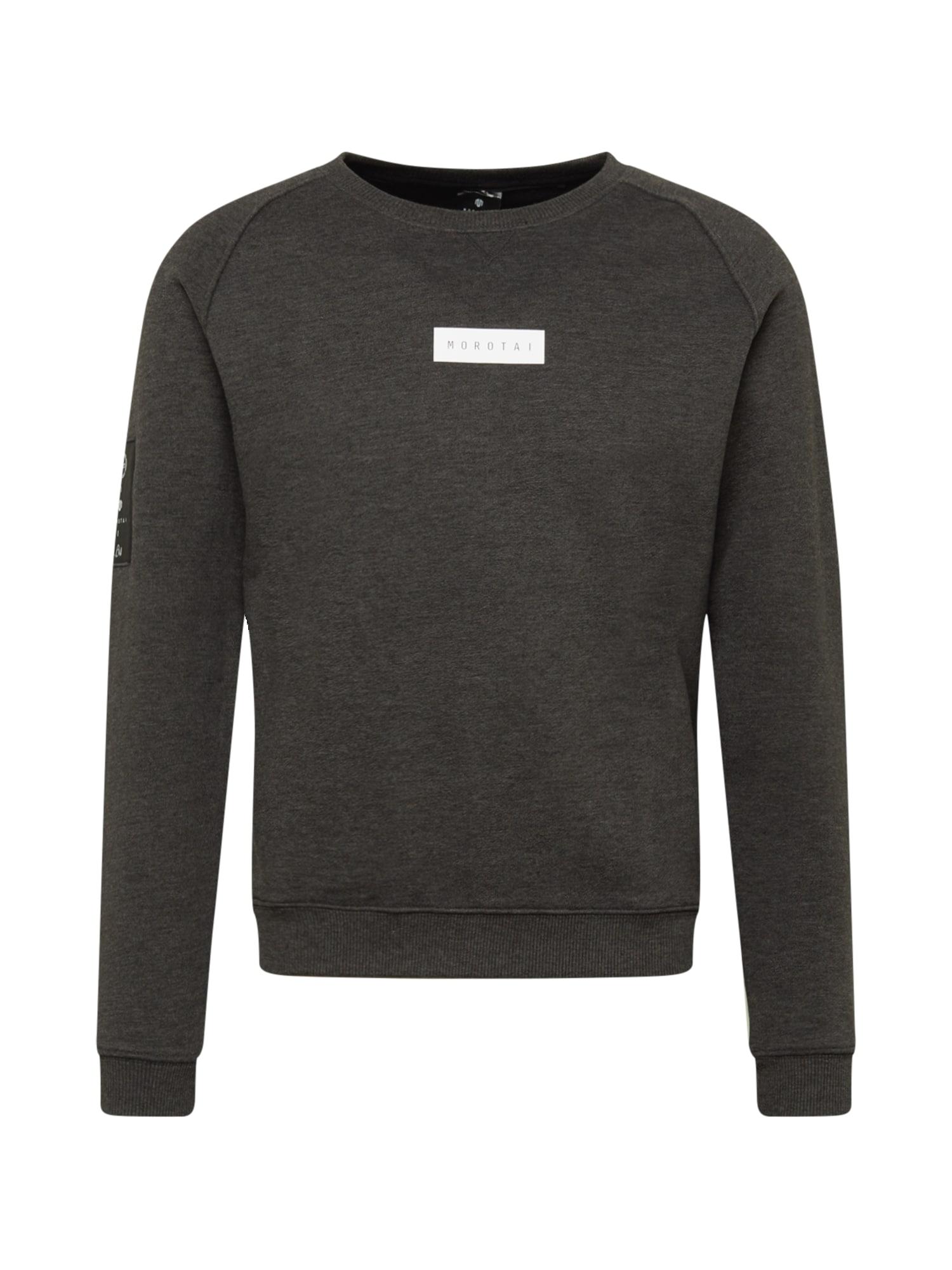 MOROTAI Sportinio tipo megztinis pilka