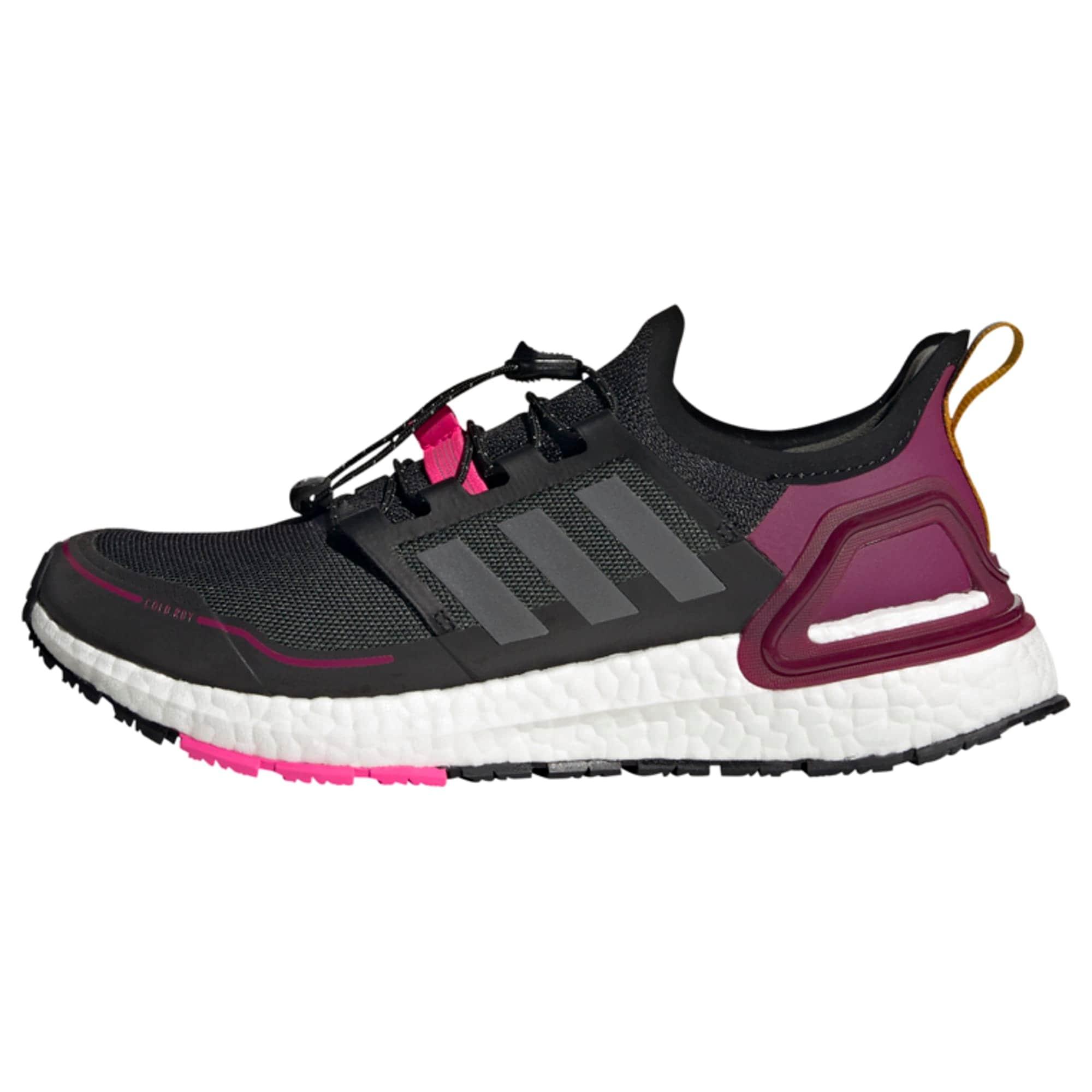 ADIDAS PERFORMANCE Bėgimo batai juoda / pilka / uogų spalva