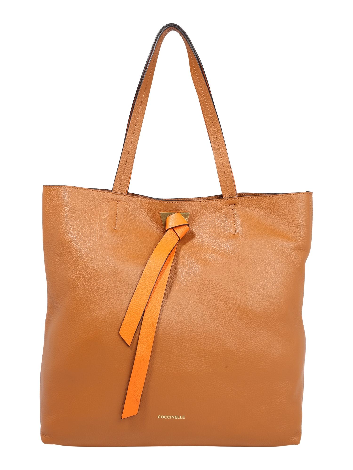 Coccinelle Pirkinių krepšys karamelės