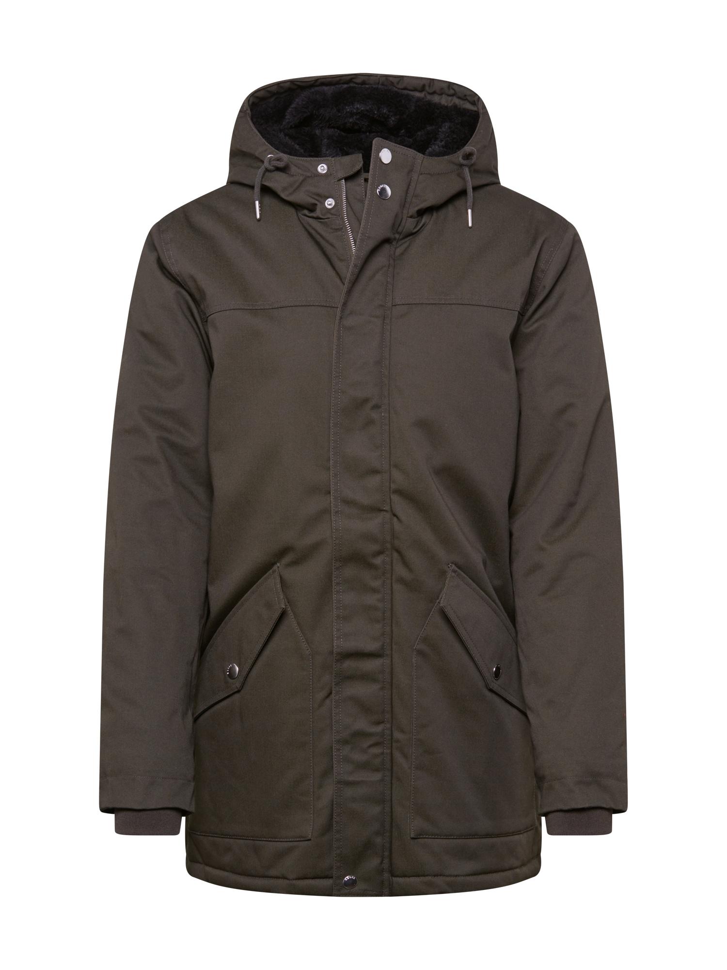 Redefined Rebel Zimní bunda 'Leon'  tmavě zelená