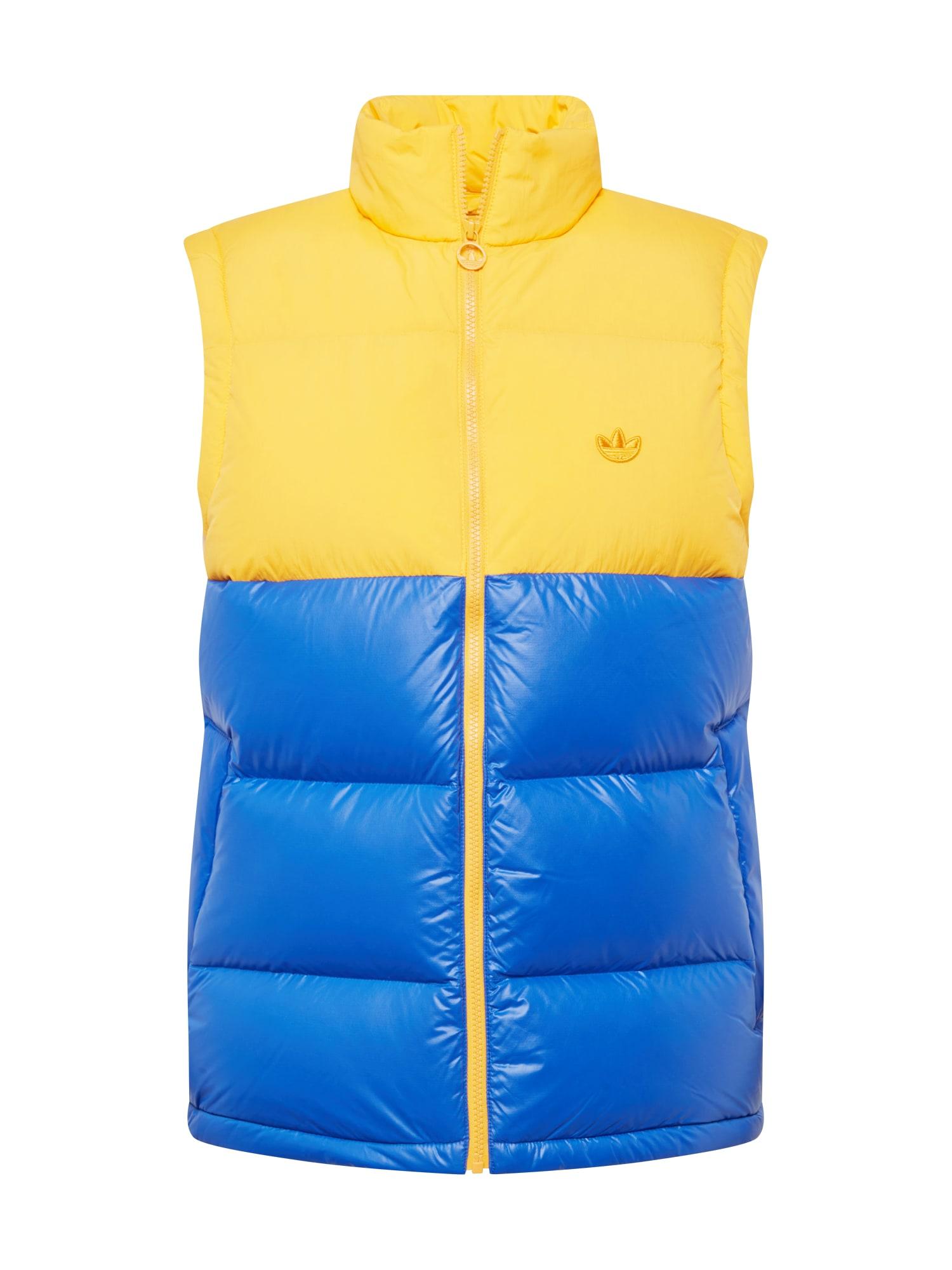 ADIDAS ORIGINALS Liemenė aukso geltonumo spalva / mėlyna