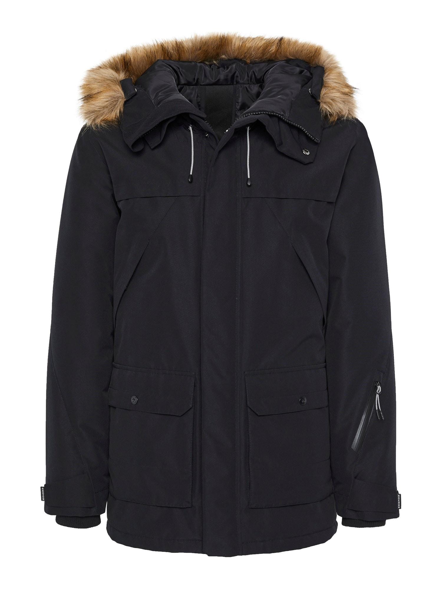 CHIEMSEE Outdoorová bunda 'FAMARA'  černá