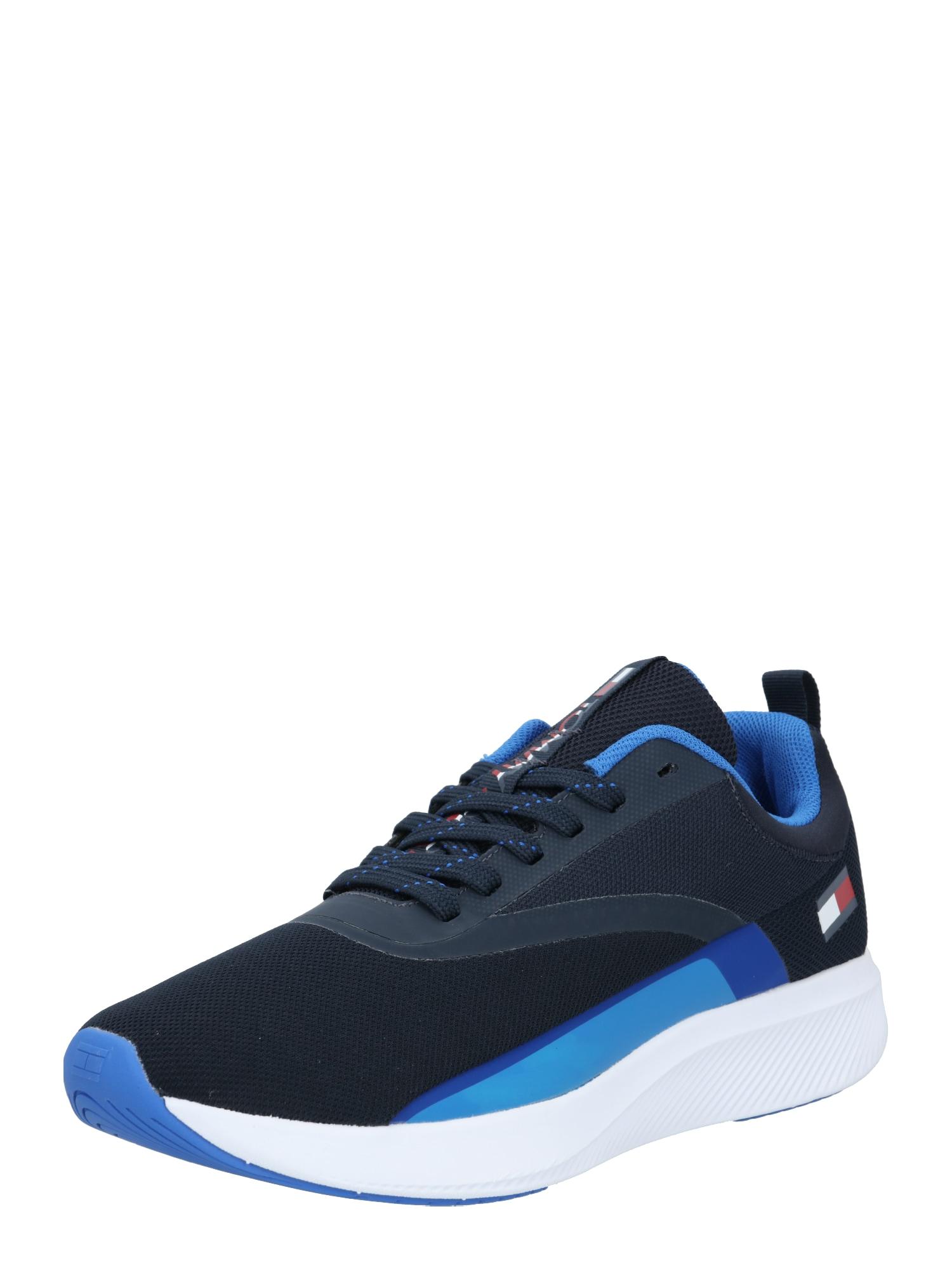 Tommy Sport Sportiniai batai tamsiai mėlyna / mėlyna