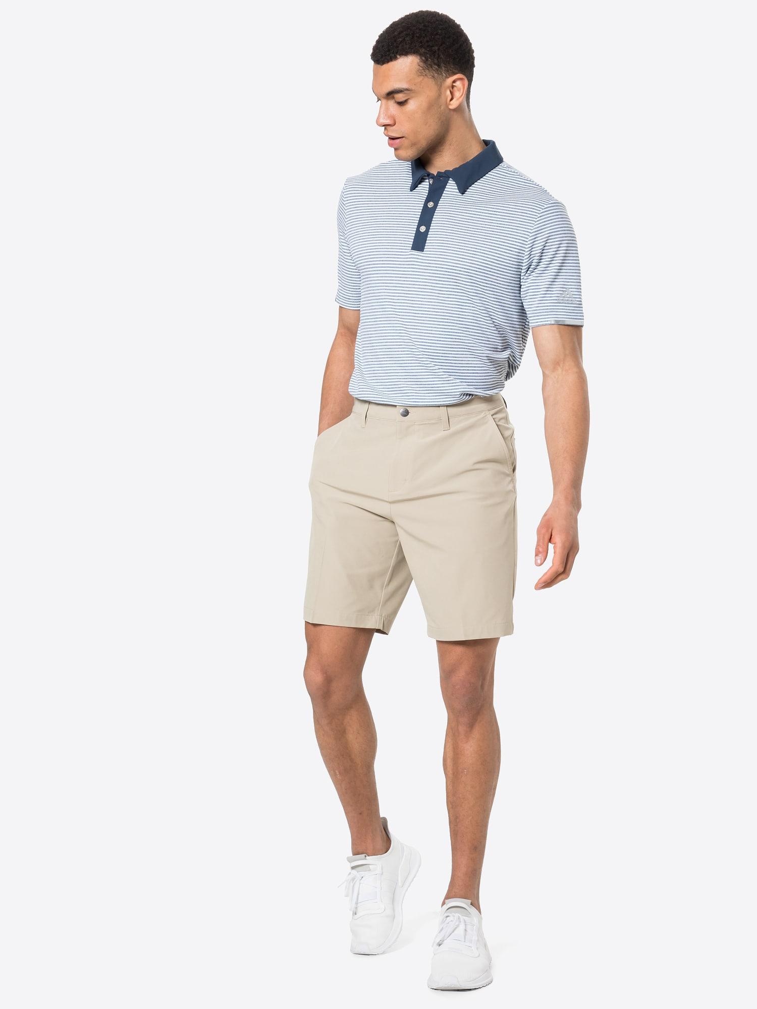 adidas Golf Športové nohavice  béžová.