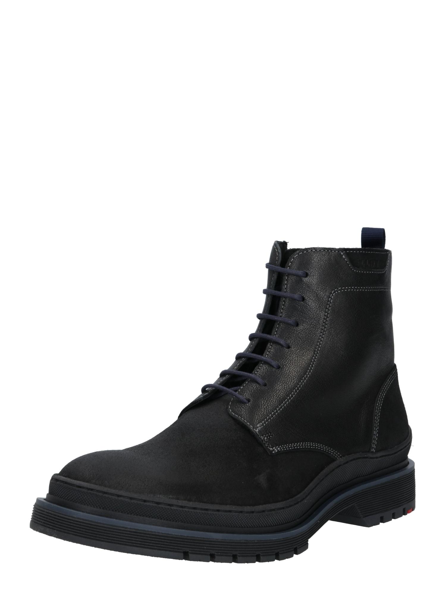 LLOYD Suvarstomieji batai juoda