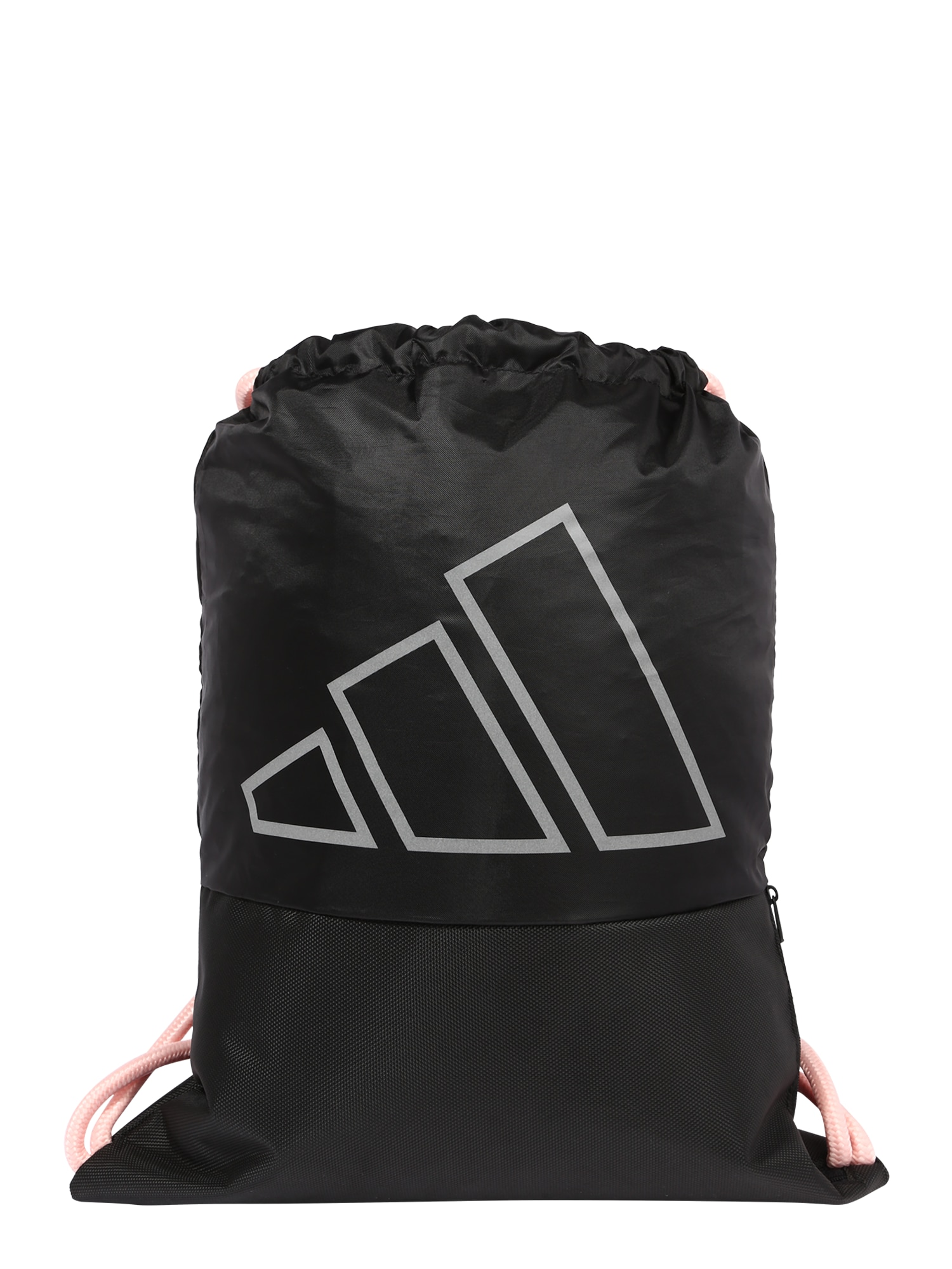 ADIDAS PERFORMANCE Sportinis krepšys juoda / šviesiai pilka