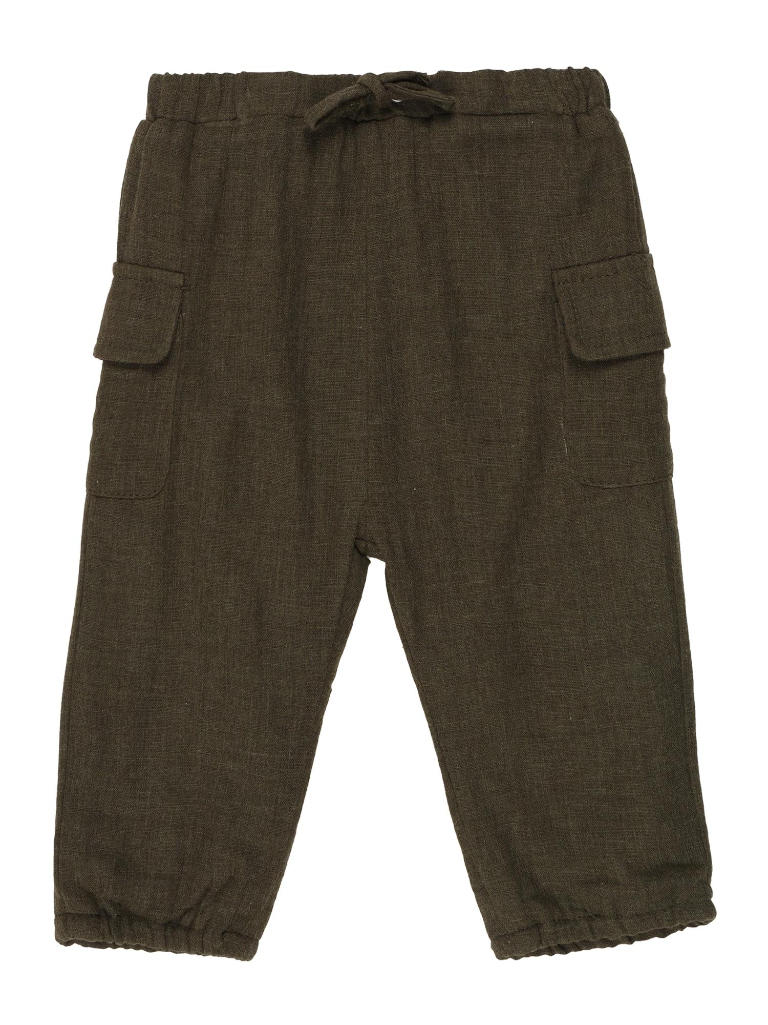 NAME IT Kelnės 'Danny' tamsiai žalia