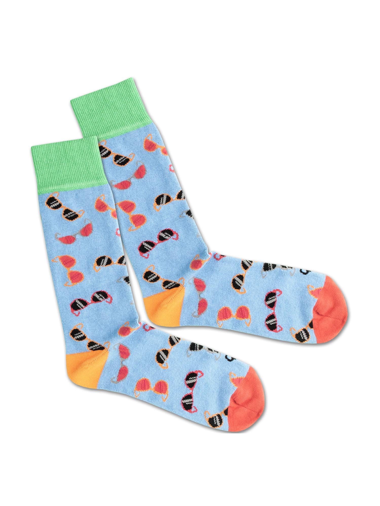 DillySocks Ponožky  červená / modrá / zelená