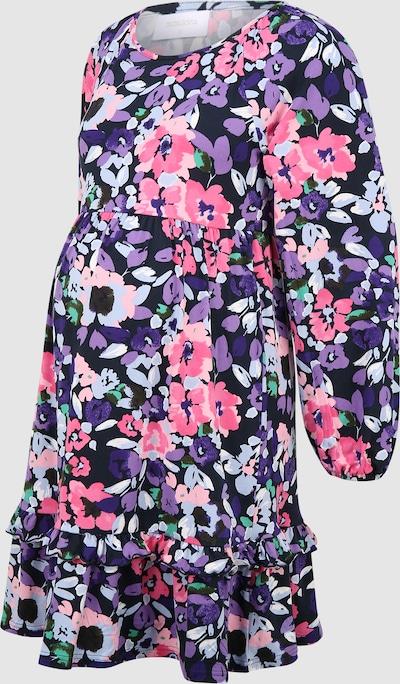 Mama.Licious Natala Kurzes Jersey-Kleid mit langen Ärmeln und Blumenmotiv