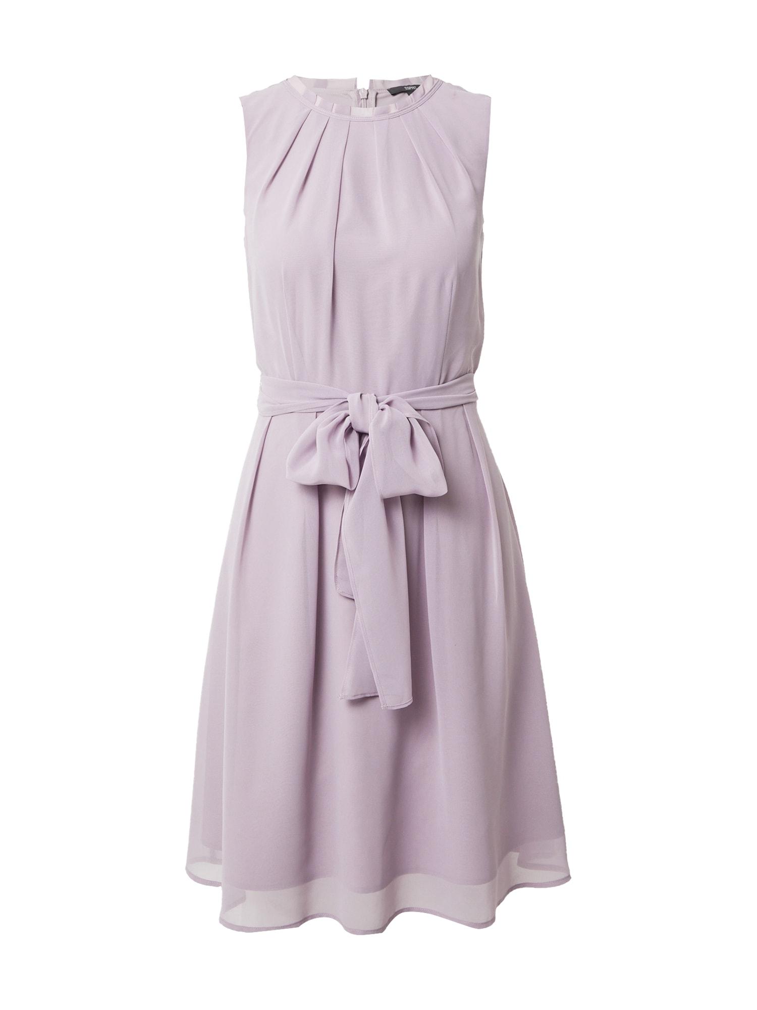 Esprit Collection Kokteilinė suknelė rausvai violetinė spalva