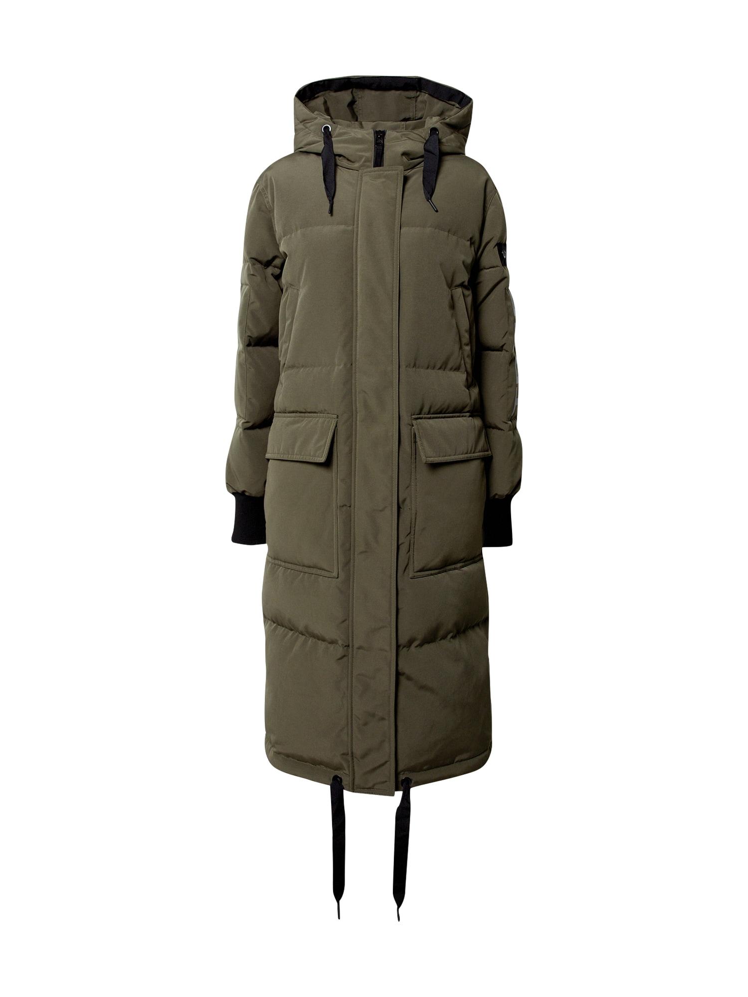 True Religion Zimní kabát  khaki