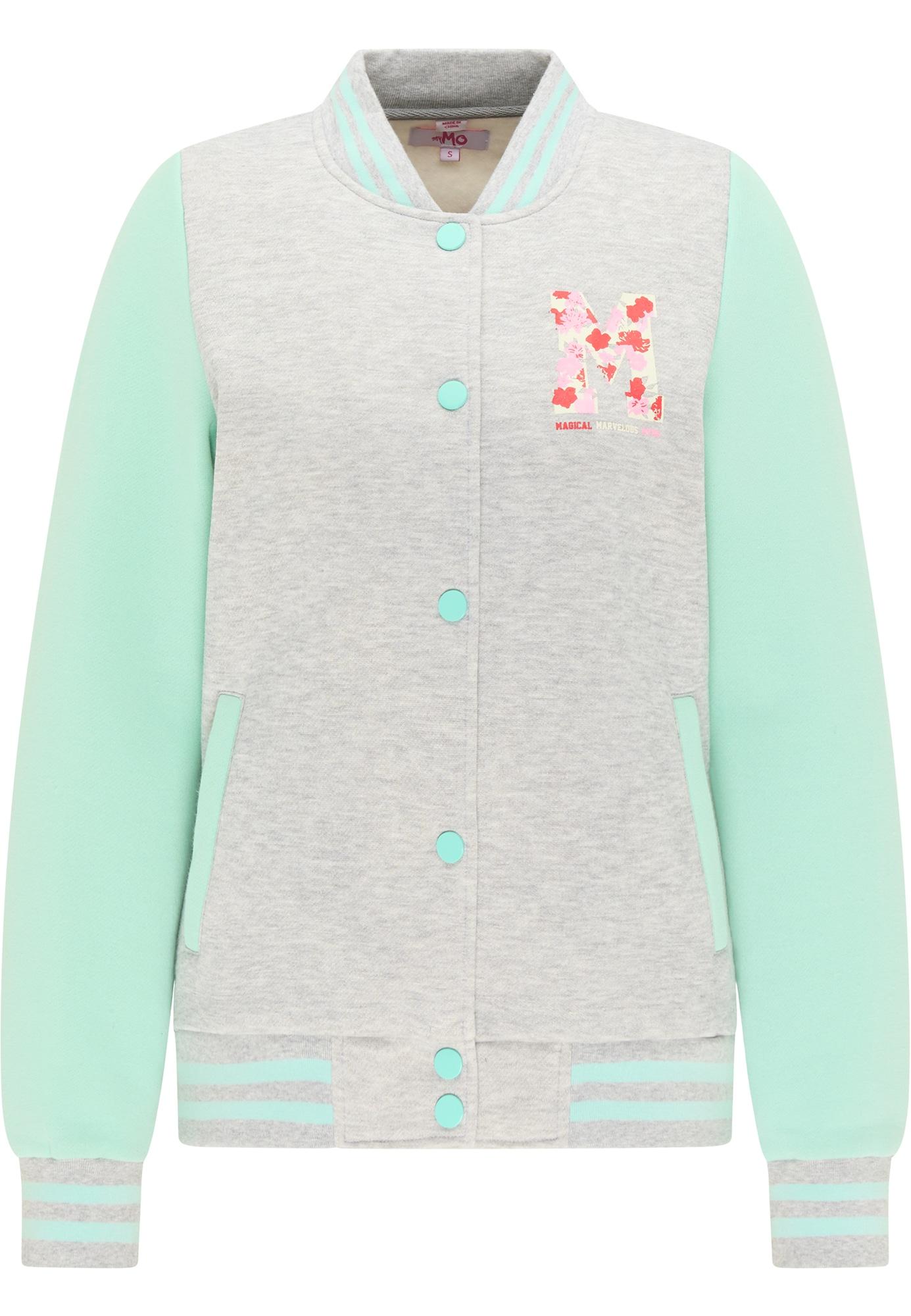 MYMO Džemperis juoda / pilka / žalia / rožinė