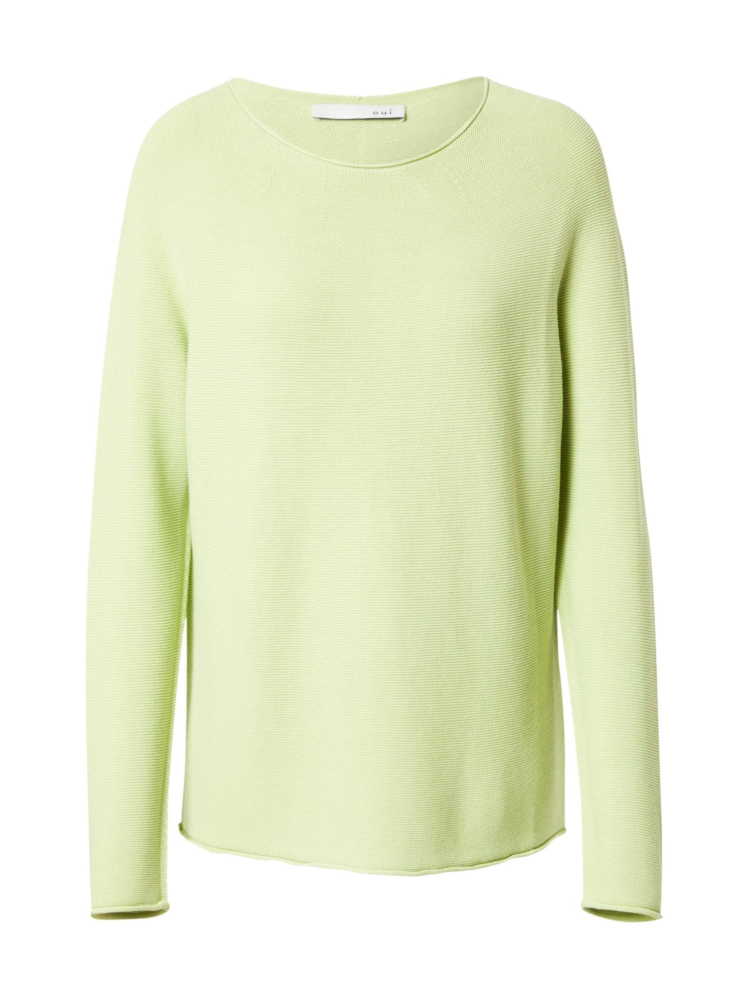 OUI Megztinis šviesiai žalia