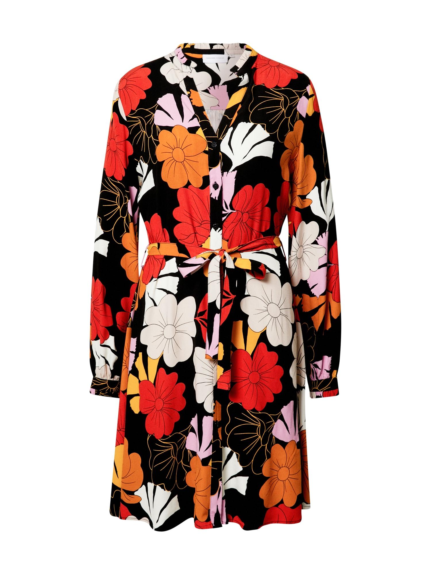 Fabienne Chapot Košilové šaty 'Dorien'  černá / mix barev
