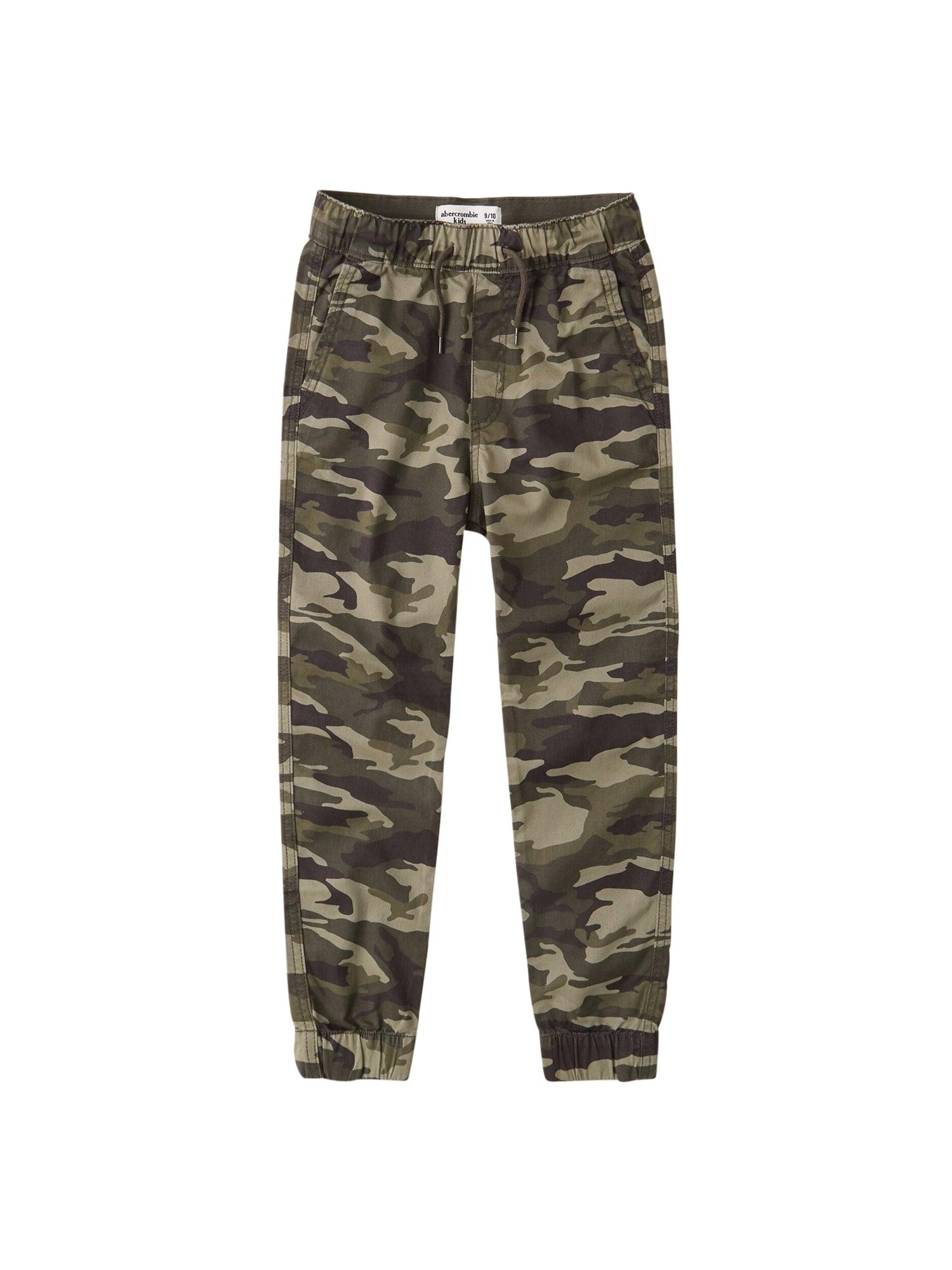 Abercrombie & Fitch Kelnės rusvai žalia / alyvuogių spalva