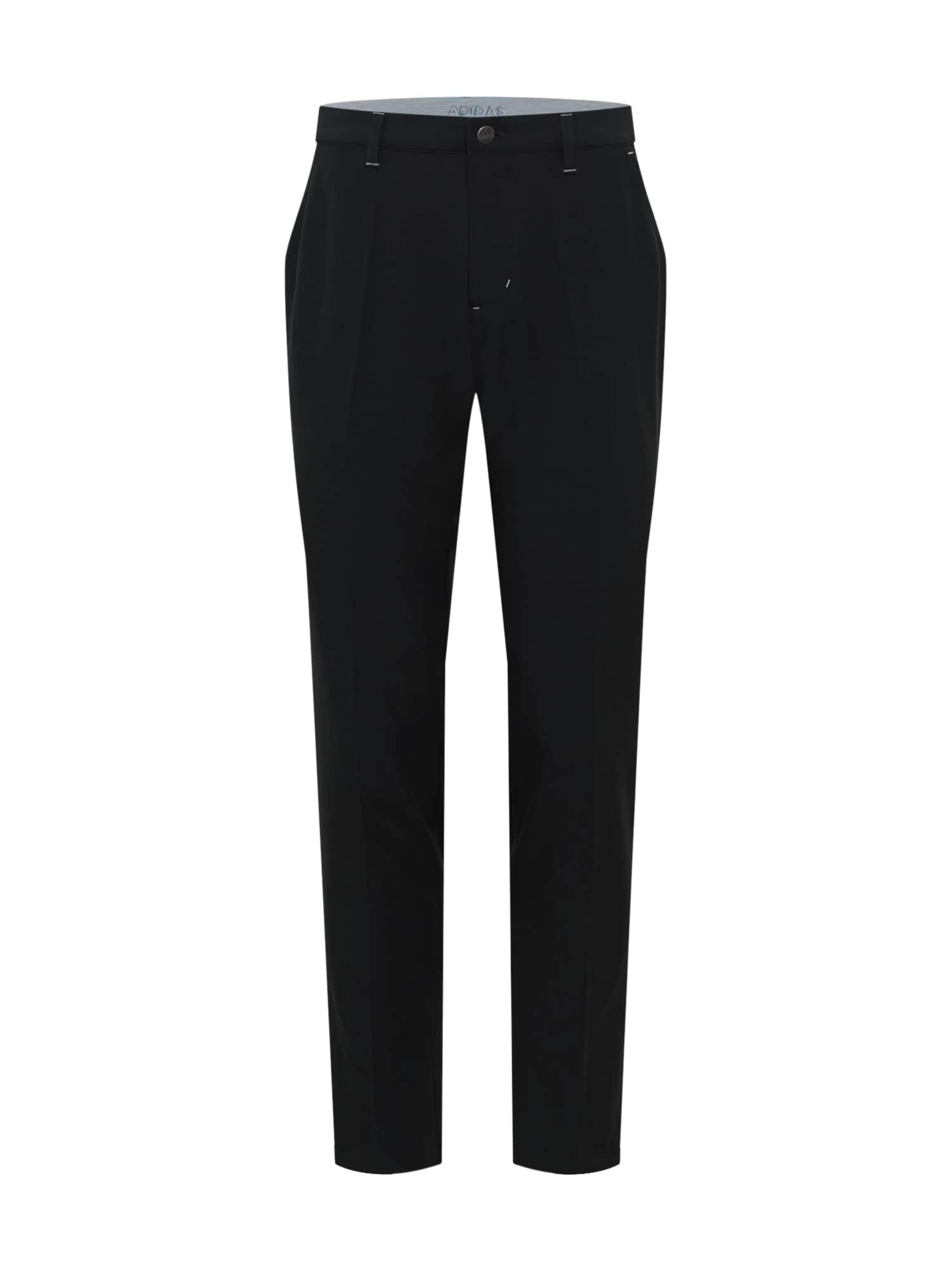adidas Golf Sportinės kelnės juoda / šviesiai pilka