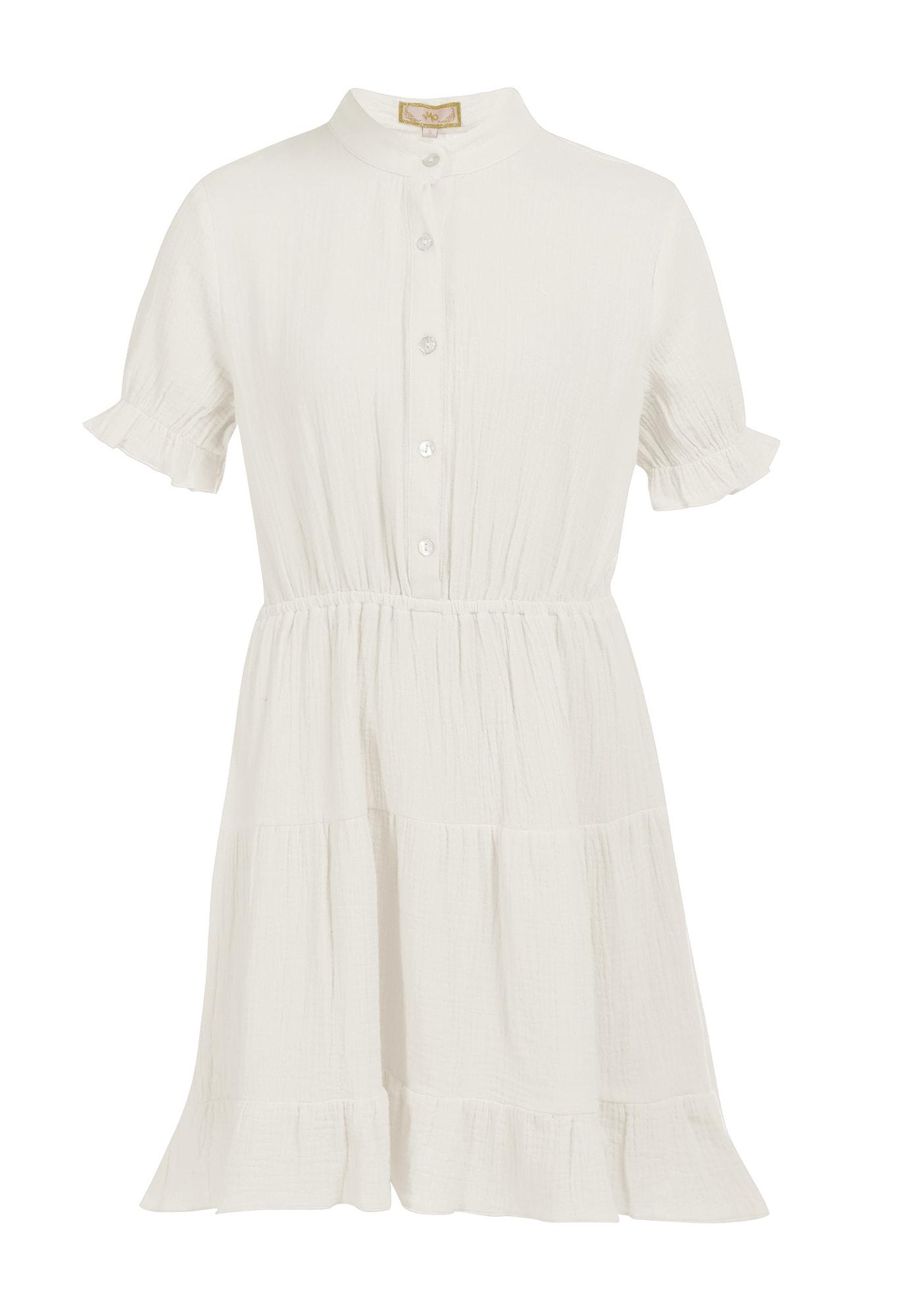 MYMO Palaidinės tipo suknelė balta