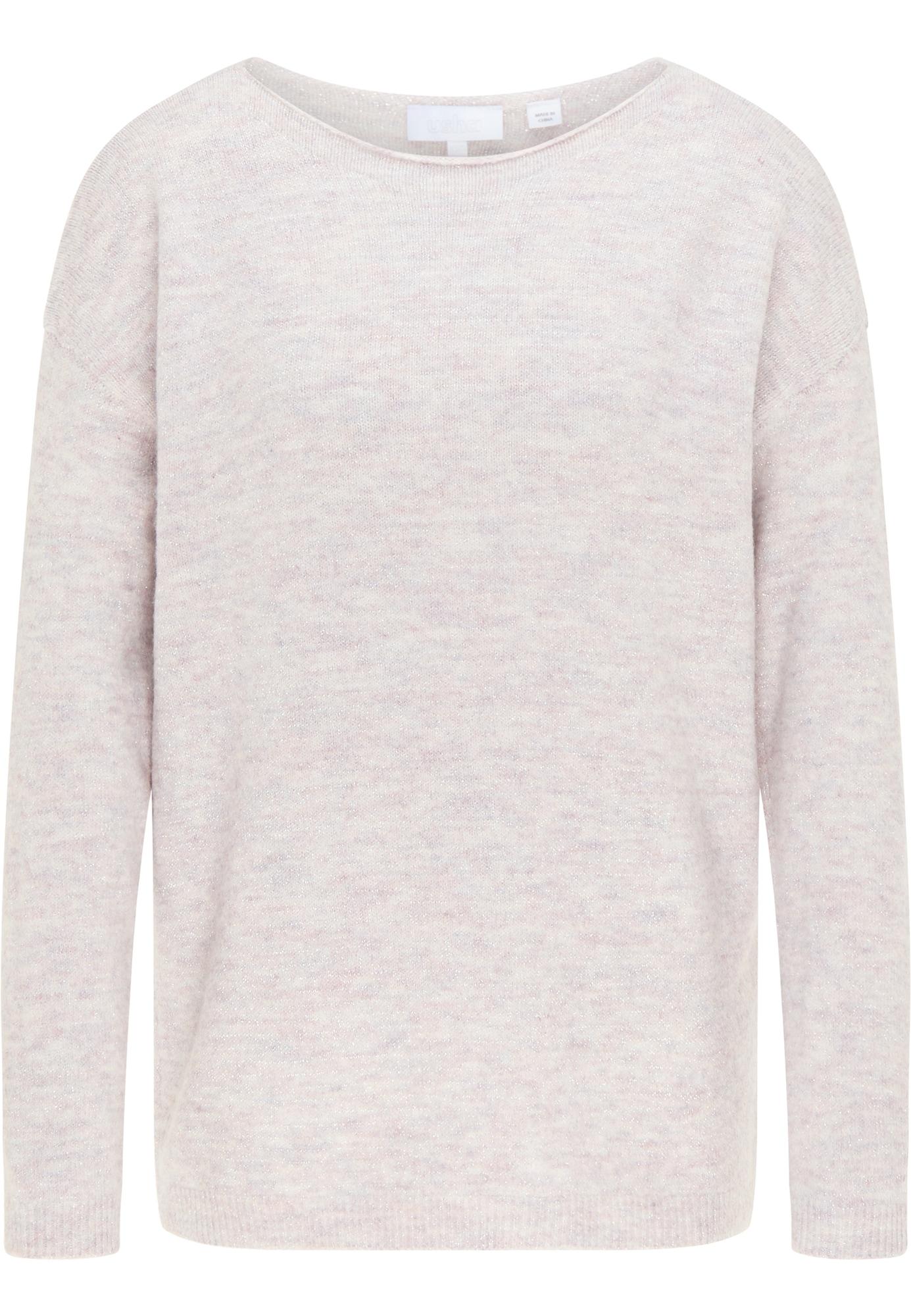 usha WHITE LABEL Laisvas megztinis margai pilka