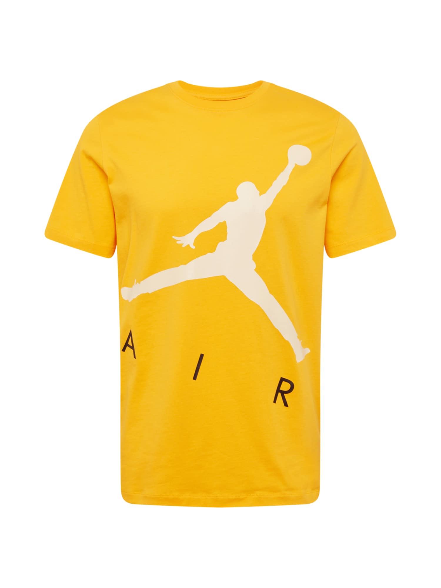Jordan Marškinėliai geltona / balta / juoda