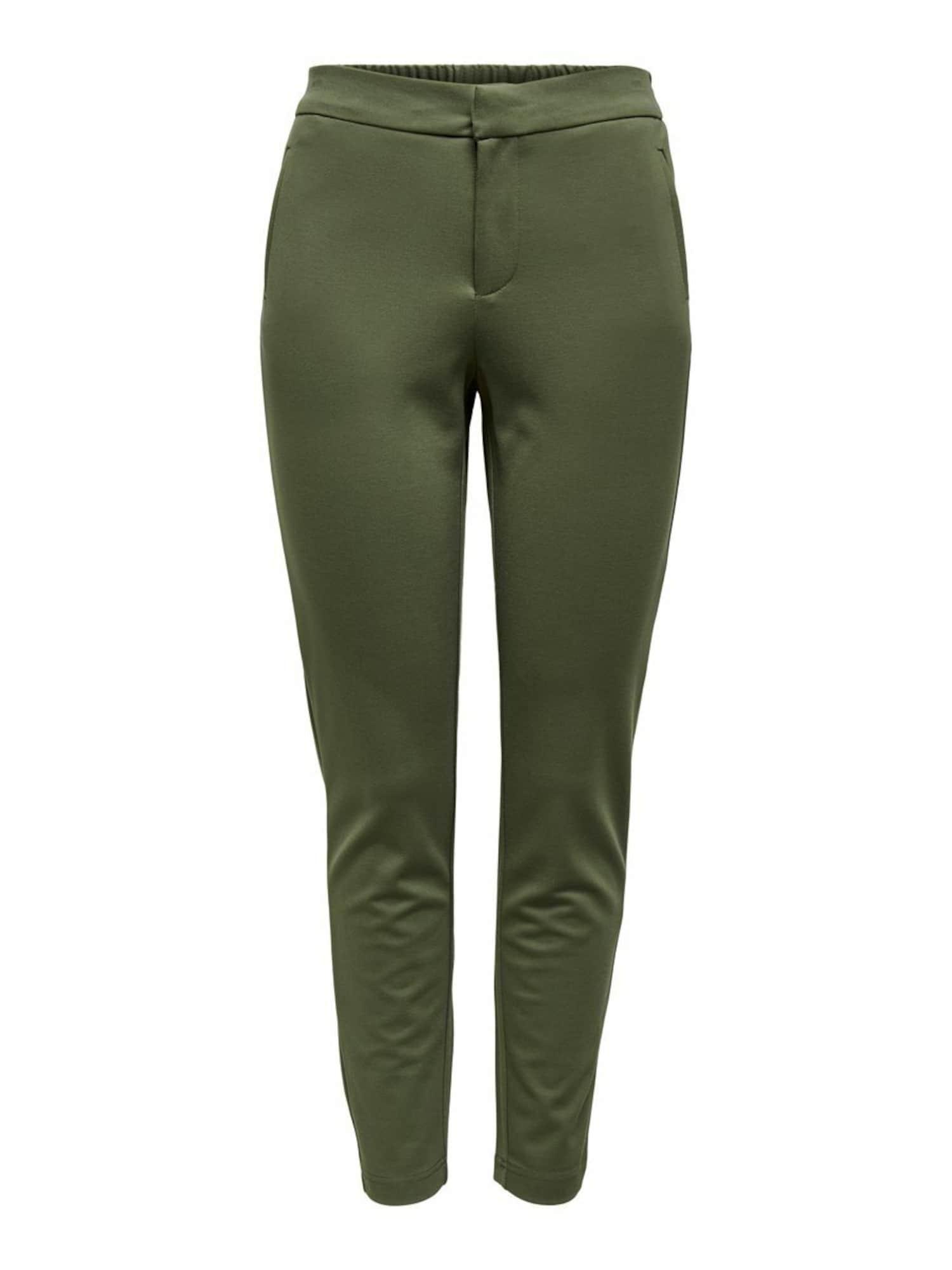 ONLY Kalhoty  olivová