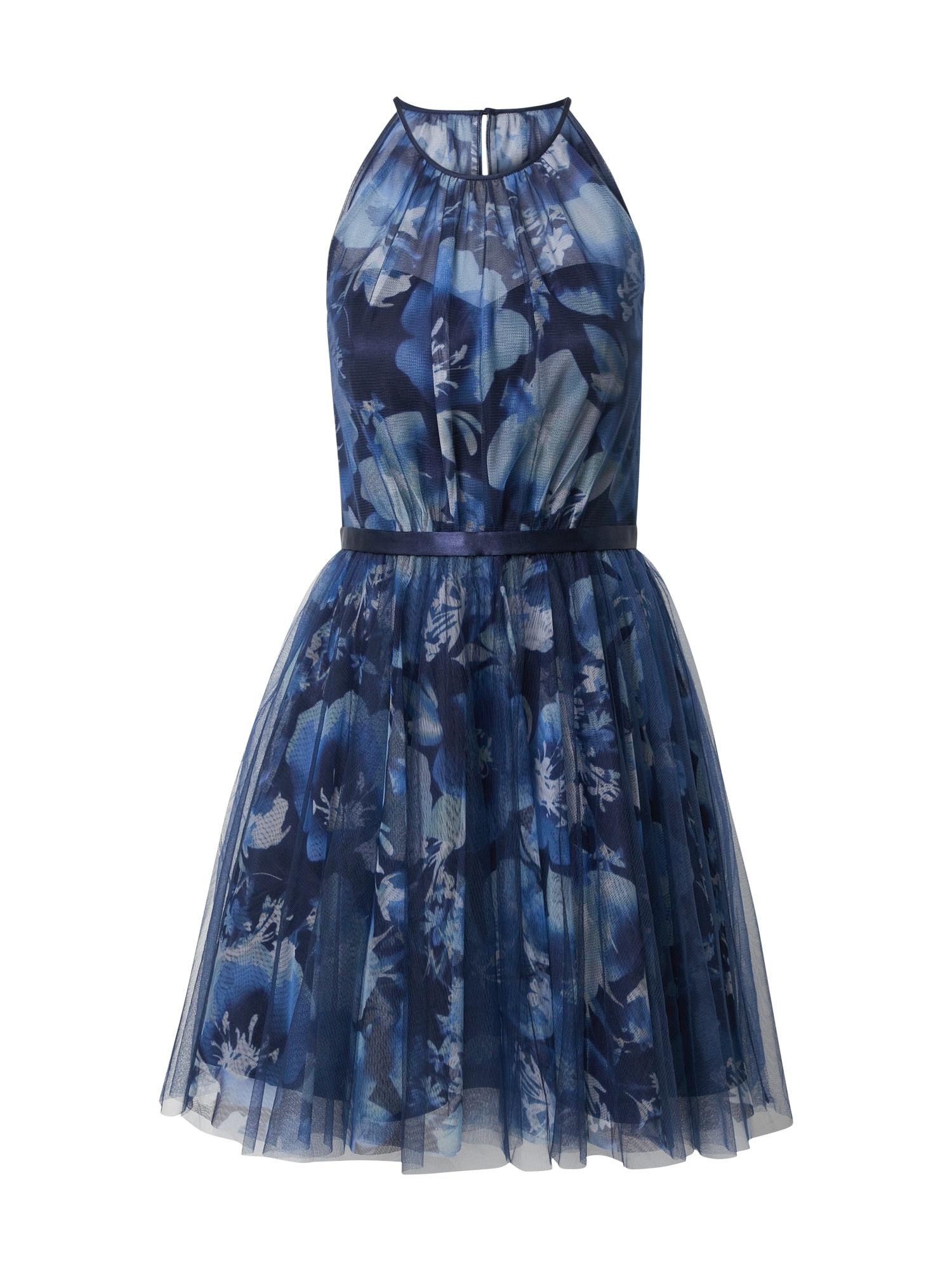 Vera Mont Vakarinė suknelė mėlyna / juoda