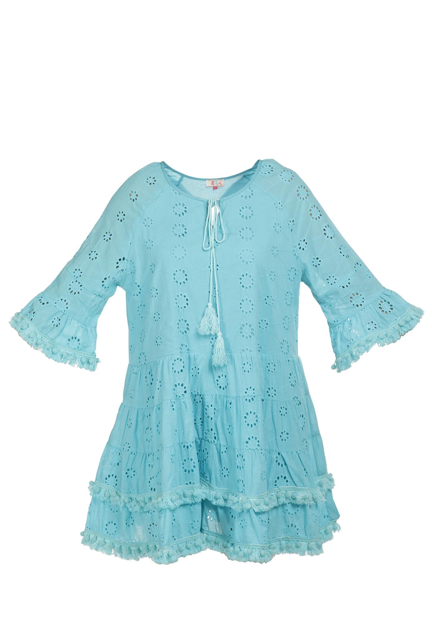 IZIA Vasarinė suknelė turkio spalva