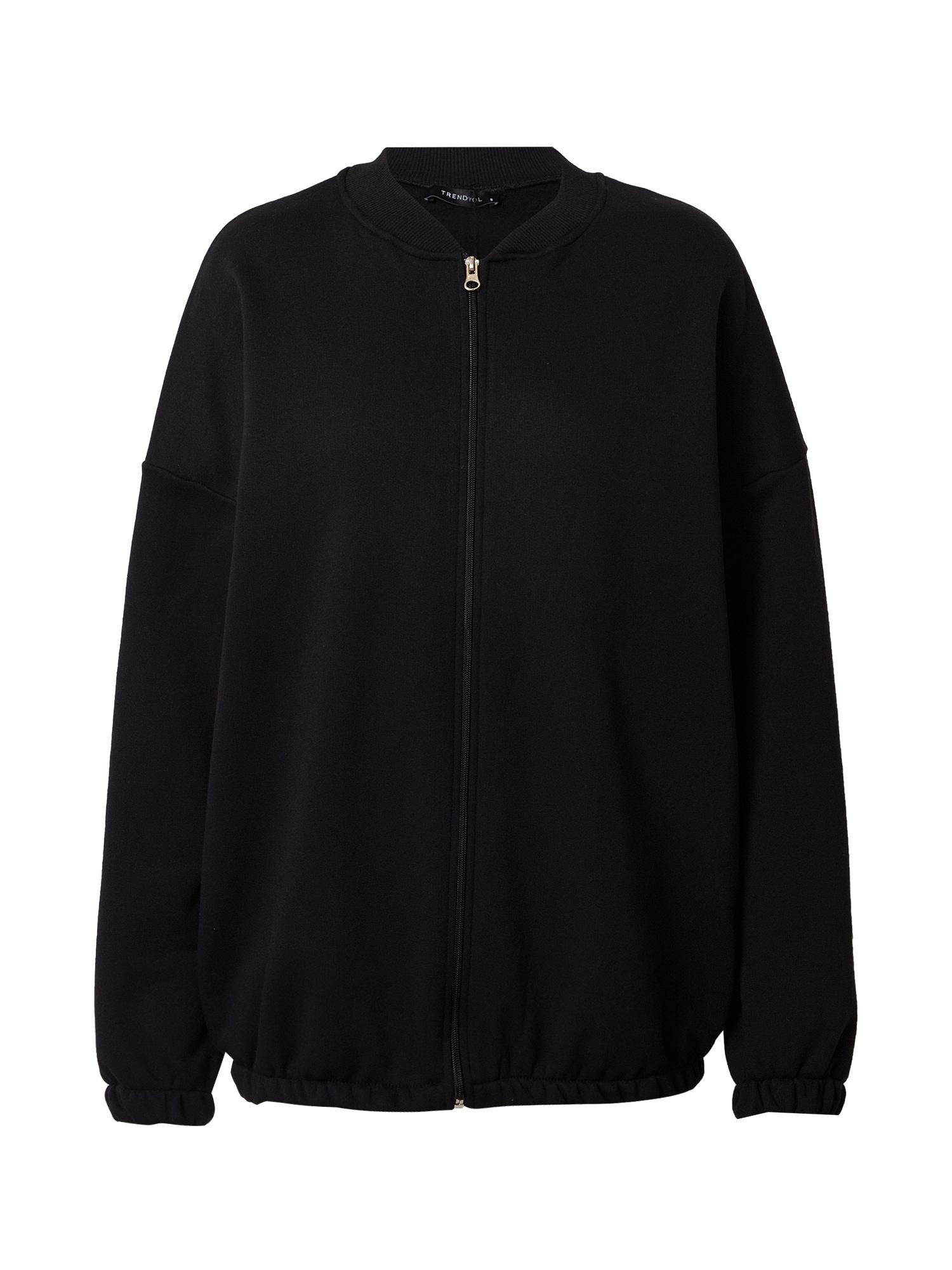 Trendyol Džemperis juoda / balta / žalia / raudona