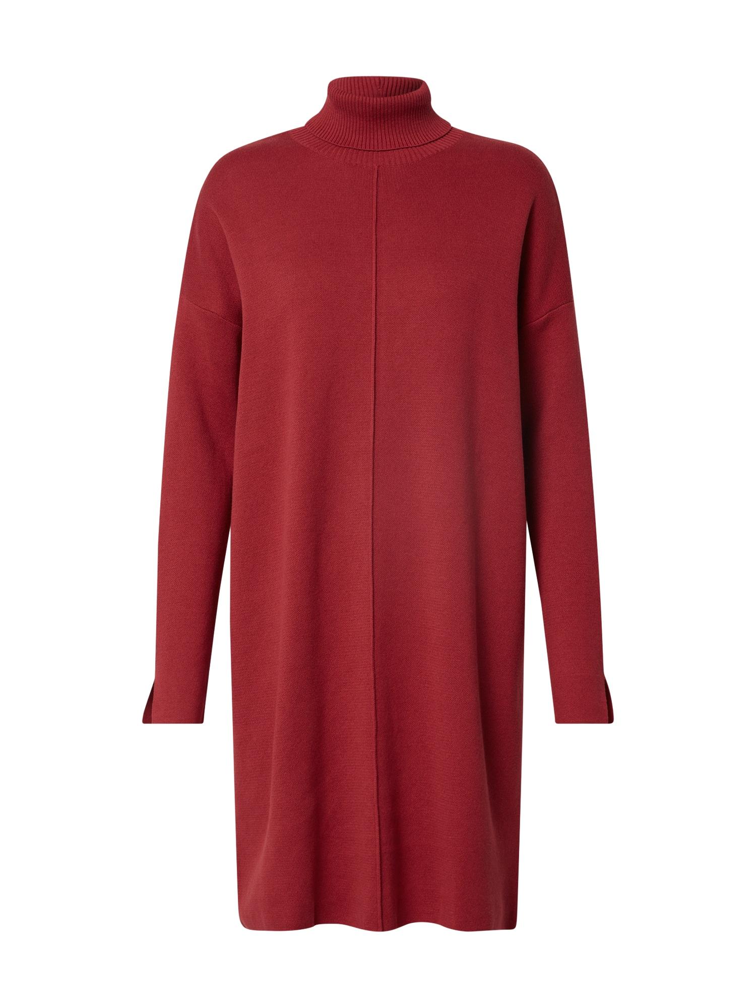 ARMEDANGELS Megzta suknelė 'Sienna' uogų spalva