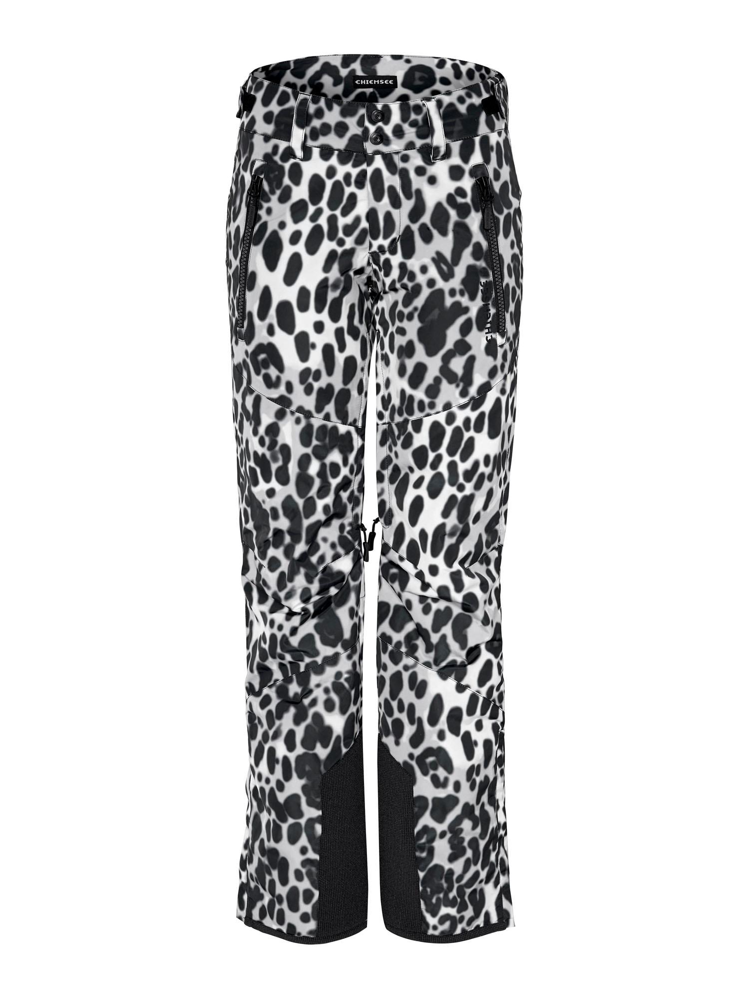 CHIEMSEE Sportovní kalhoty 'Kizzy'  černá / bílá