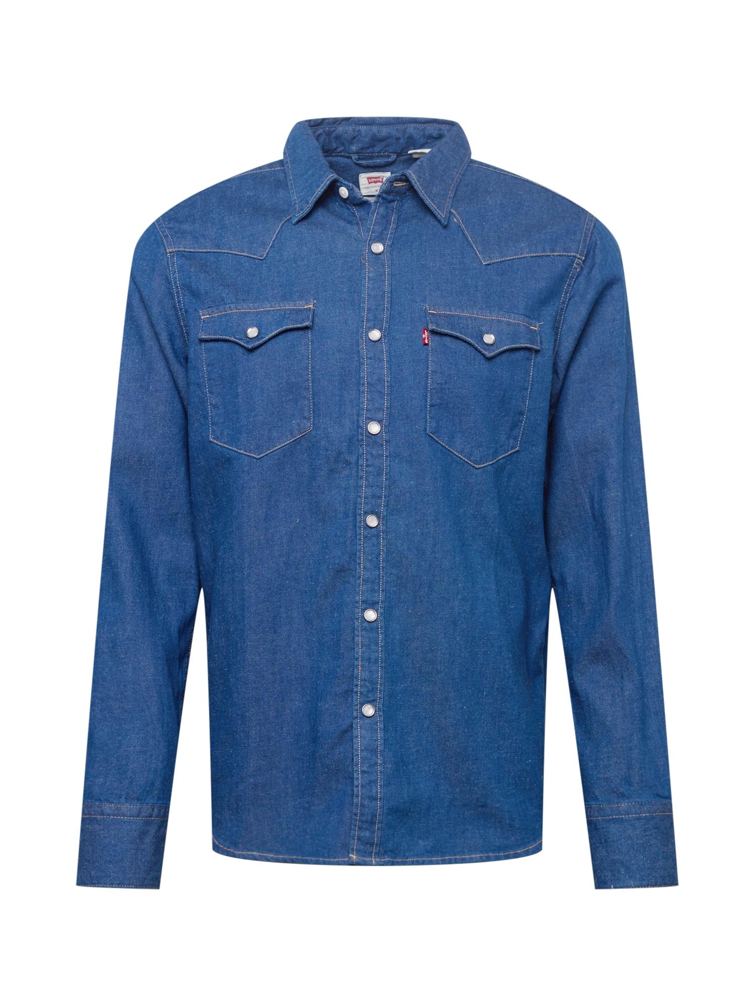 LEVI'S Košile 'BARSTOW WESTERN STANDARD'  modrá džínovina