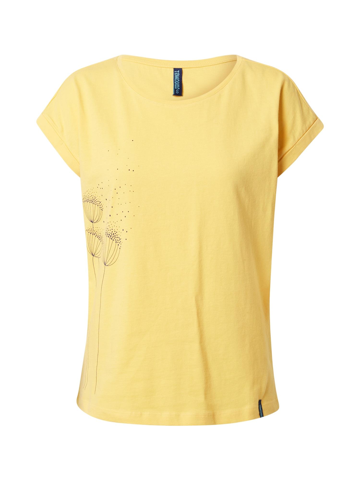 Tranquillo Marškinėliai geltona / juoda