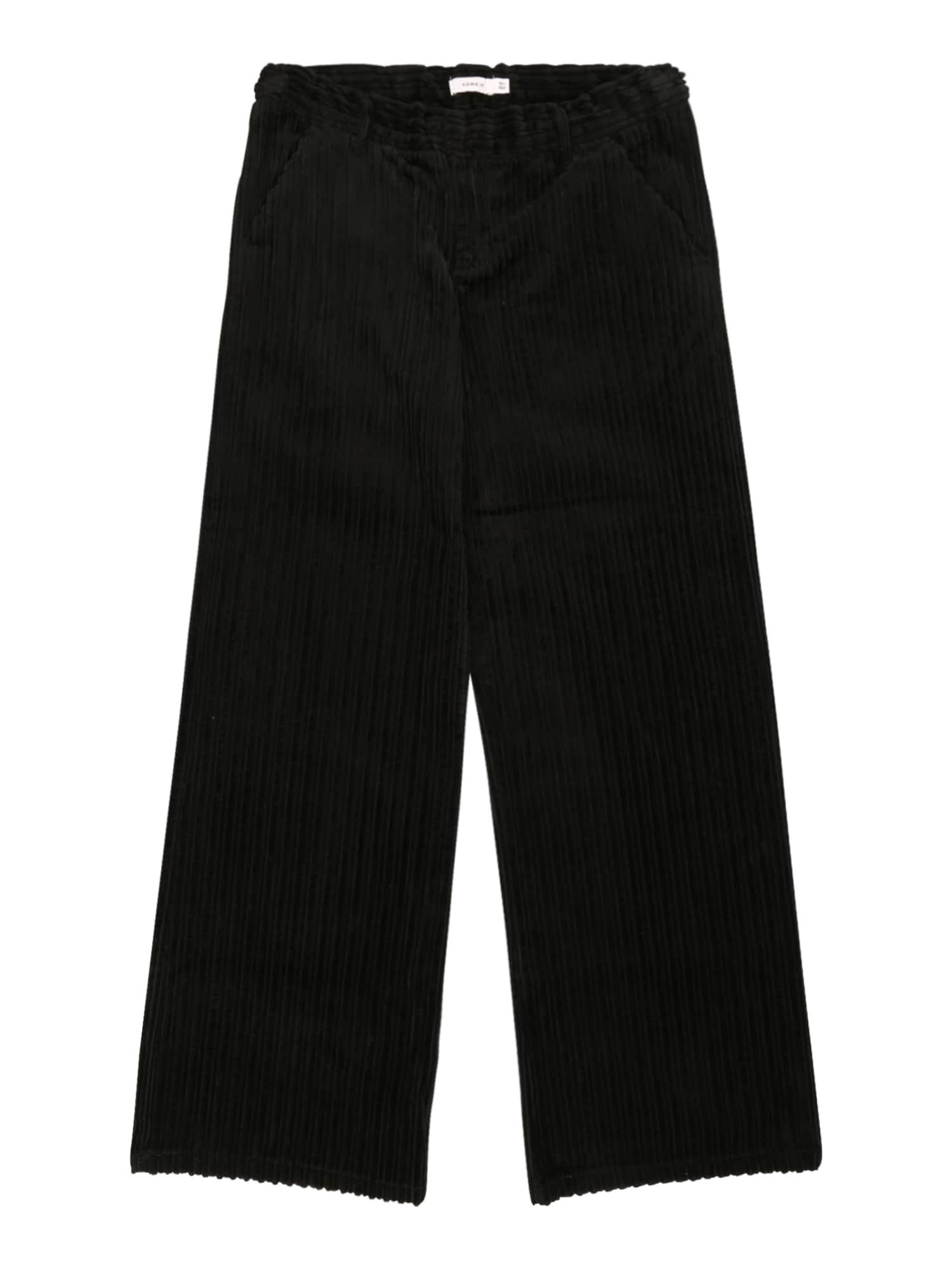 NAME IT Kelnės 'RANDI' juoda