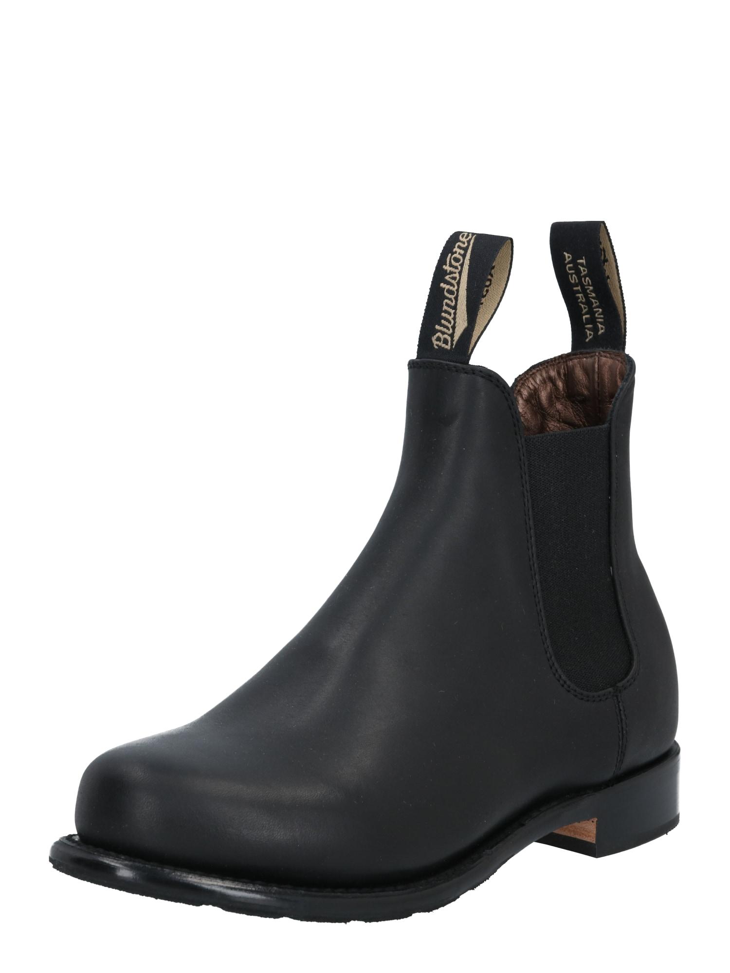 Blundstone Chelsea boty  černá / starobéžová