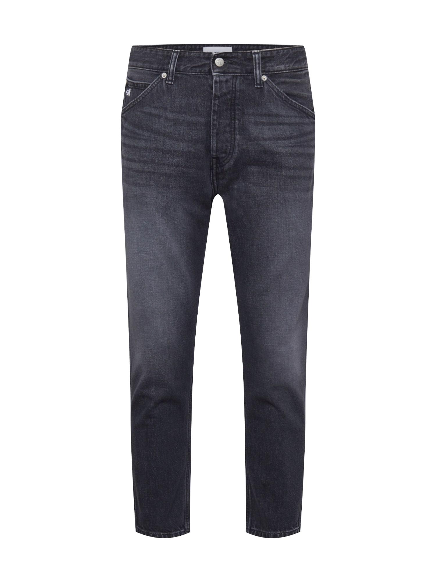 Calvin Klein Jeans Džíny 'DAD'  černá džínovina