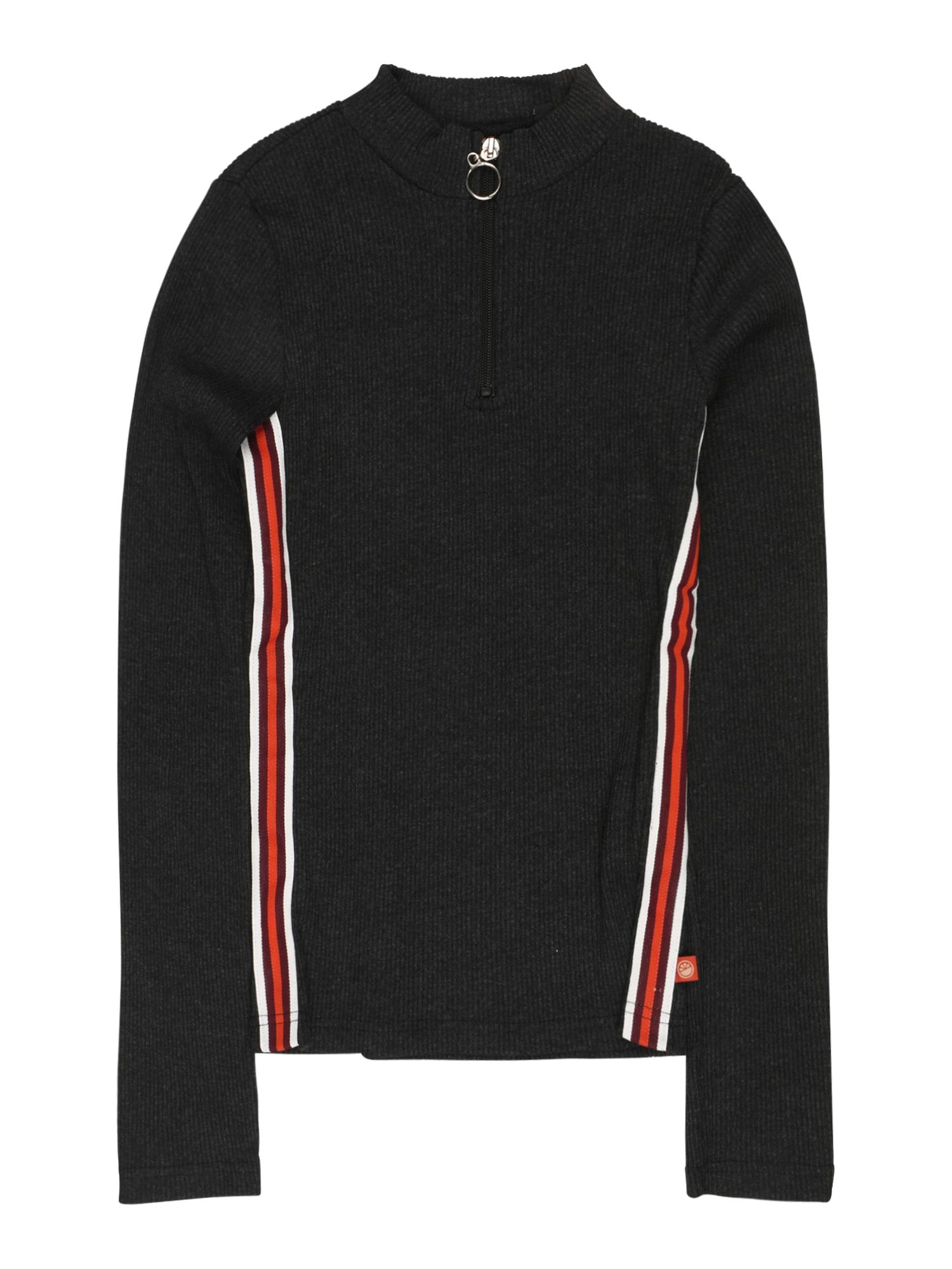 LEMON BERET Marškinėliai antracito / raudona / balta