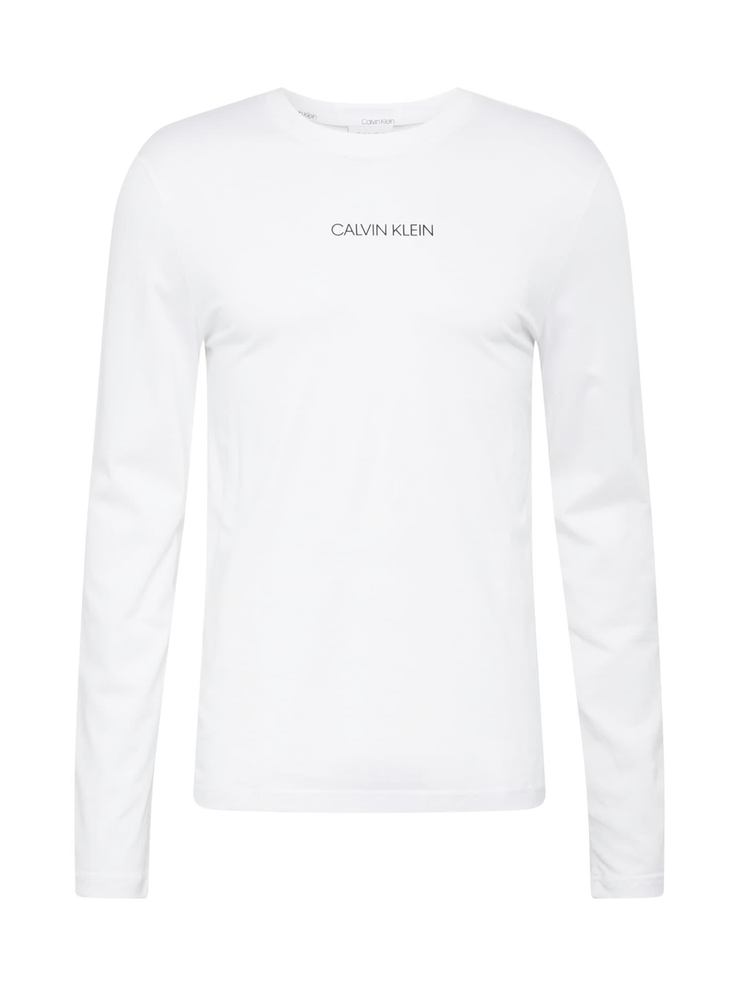 Calvin Klein Tričko  bílá