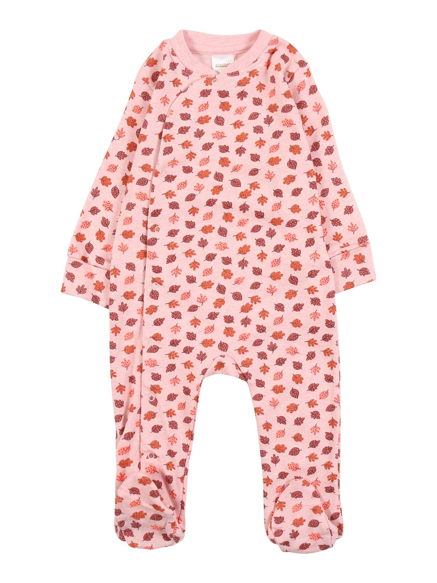 STACCATO Miego kostiumas rožių spalva / purpurinė