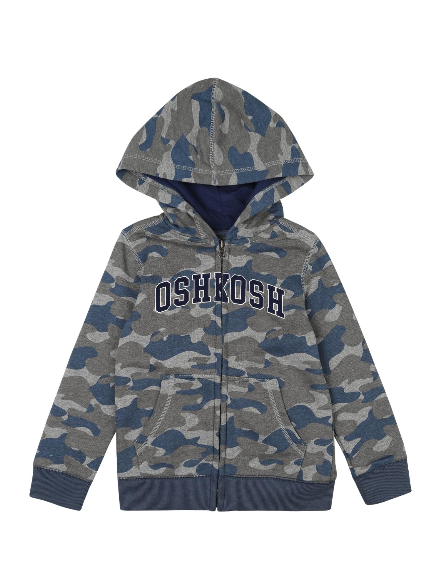 OshKosh Džemperis mėlyna / pilka