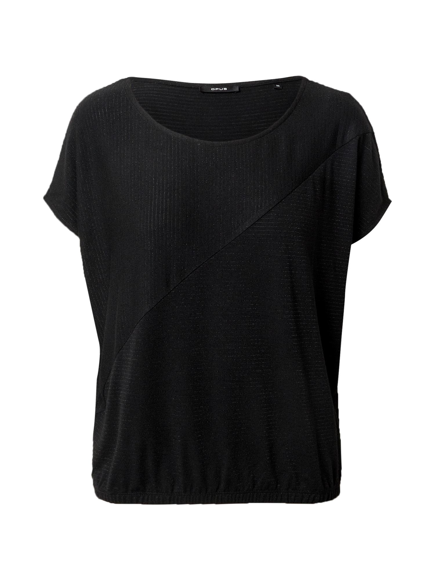 OPUS Marškinėliai juoda
