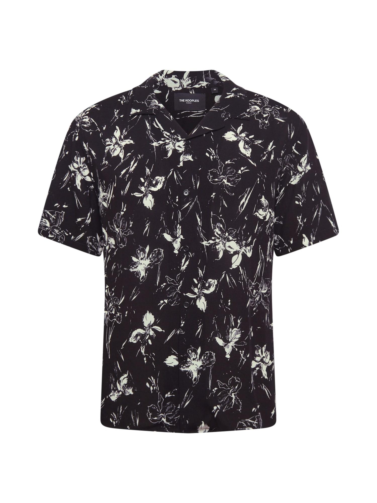 The Kooples Marškiniai juoda / balta