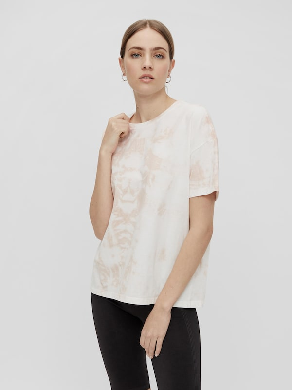 Pieces Panni Kurzärmeliges Batik-T-Shirt