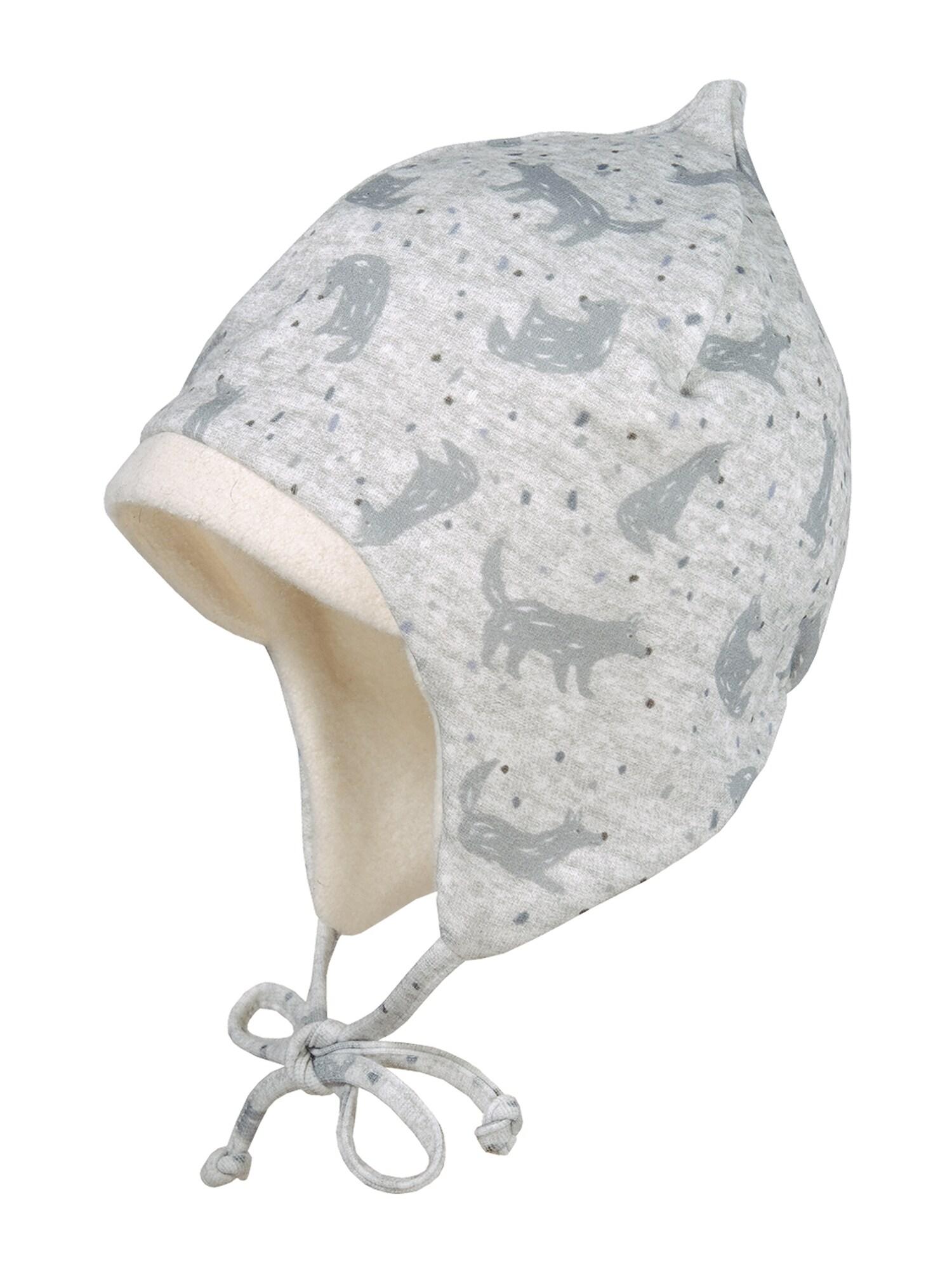 MAXIMO Megzta kepurė pilka / šviesiai pilka
