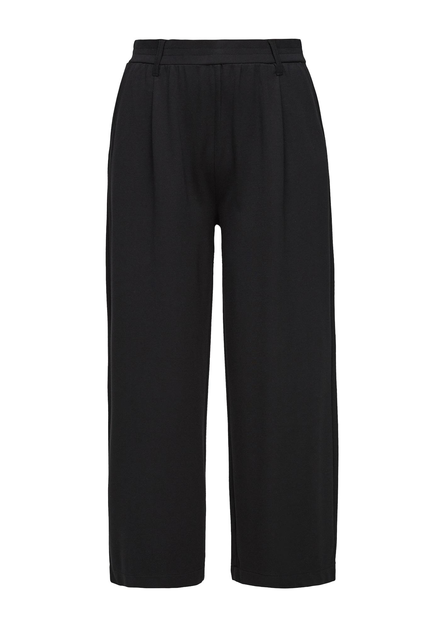 Q/S designed by Klostuotos kelnės juoda
