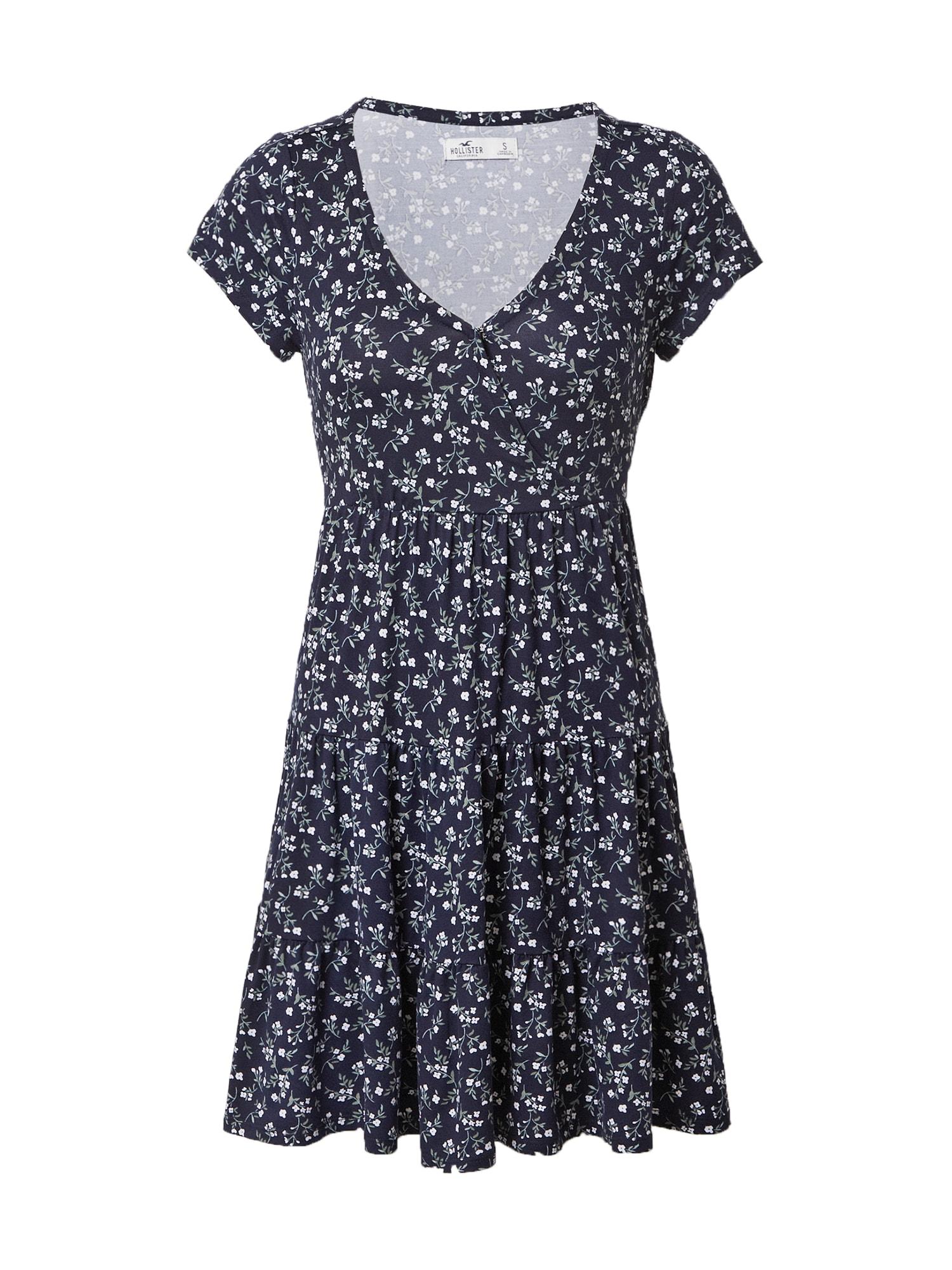 HOLLISTER Vasarinė suknelė tamsiai mėlyna / mišrios spalvos