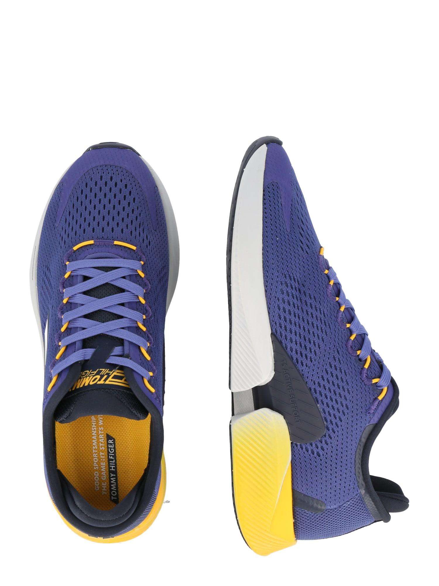 Tommy Sport Chaussure de sport  bleu / rouge / blanc / bleu foncé / jaune