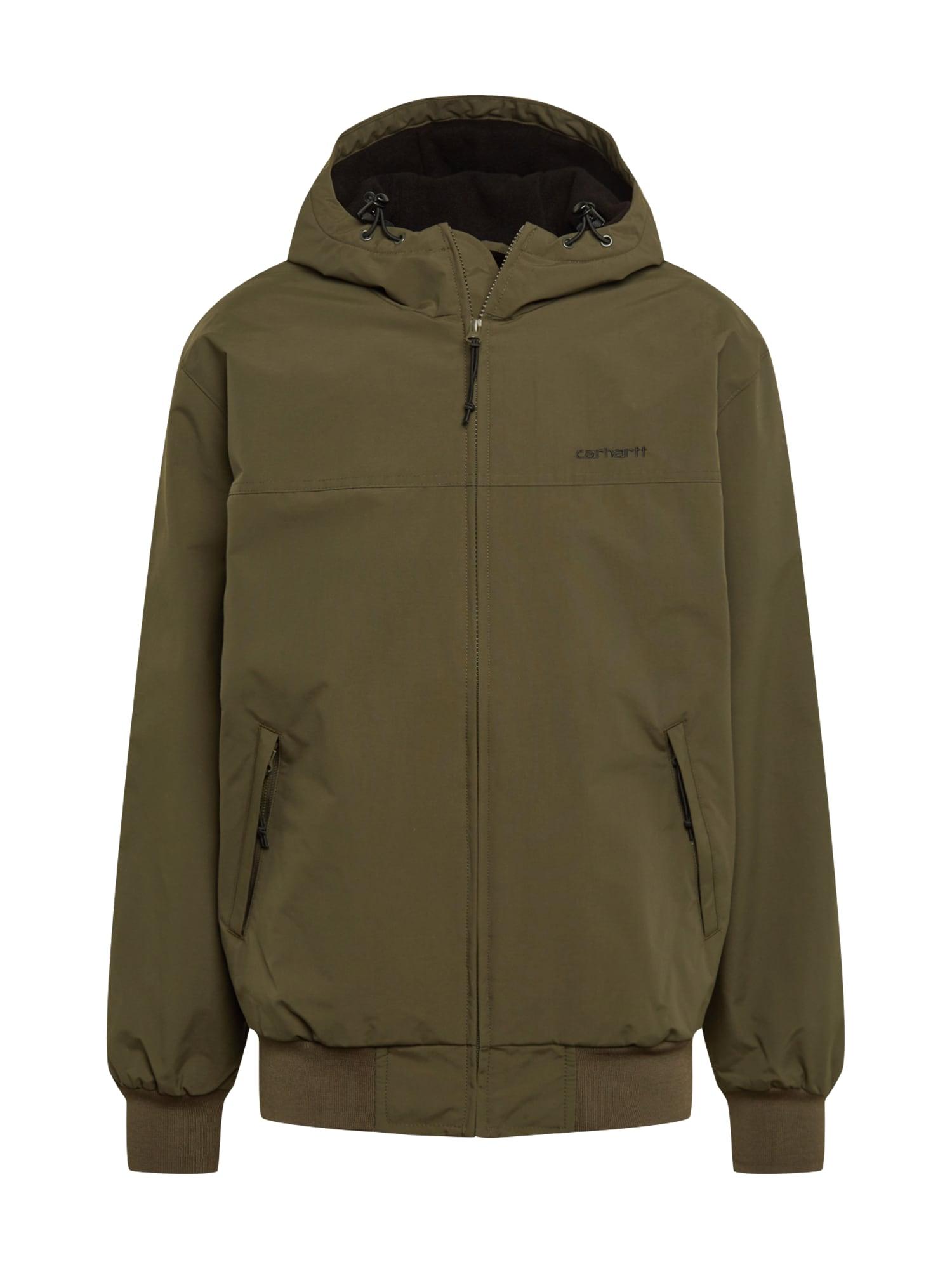 Carhartt WIP Přechodná bunda  černá / olivová